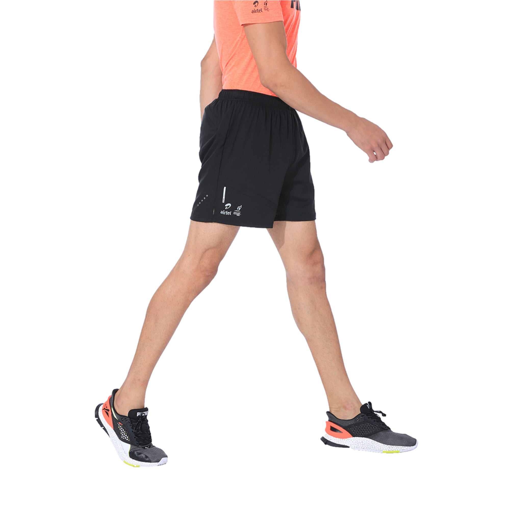 Thumbnail 2 of IGNITE Running Shorts, Puma Black, medium-IND
