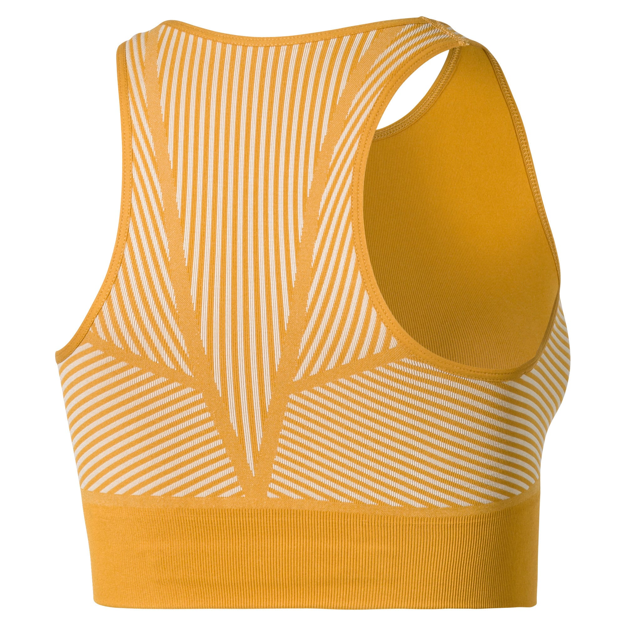 Thumbnail 2 of Seamless Women's Crop Top, Chai Tea-Oatmeal, medium