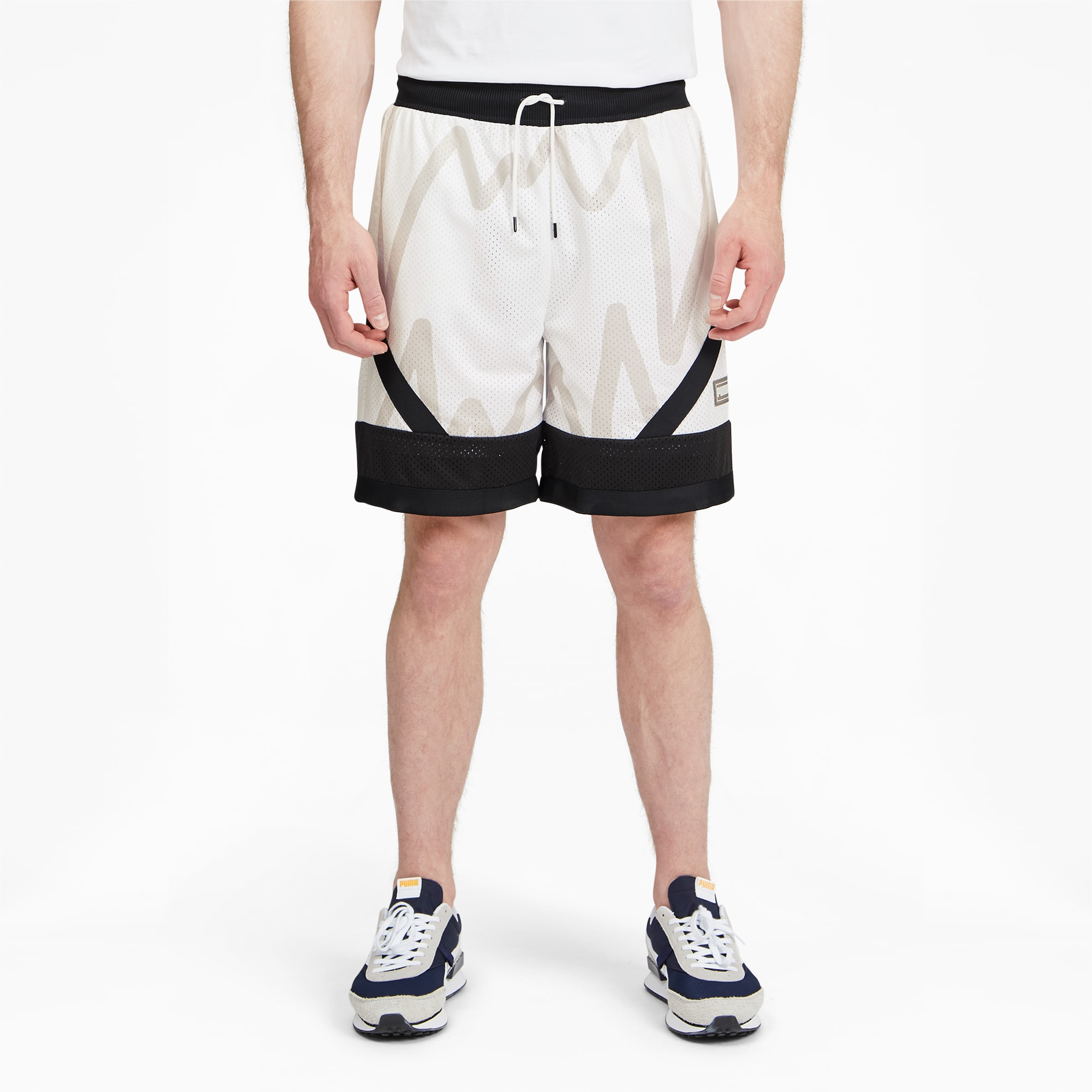 Jaws Men's Mesh Basketball Shorts