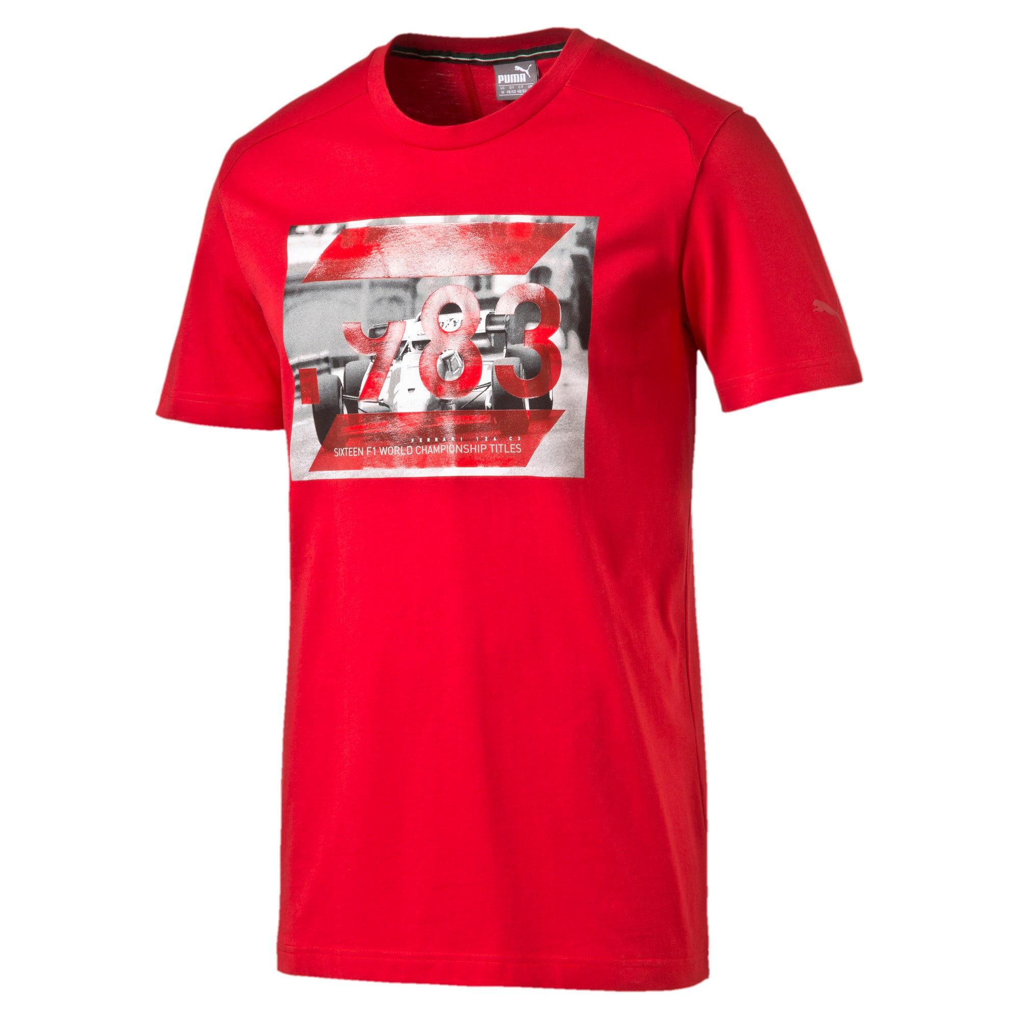Thumbnail 4 of Ferrari Graphic T-Shirt, rosso corsa, medium-IND