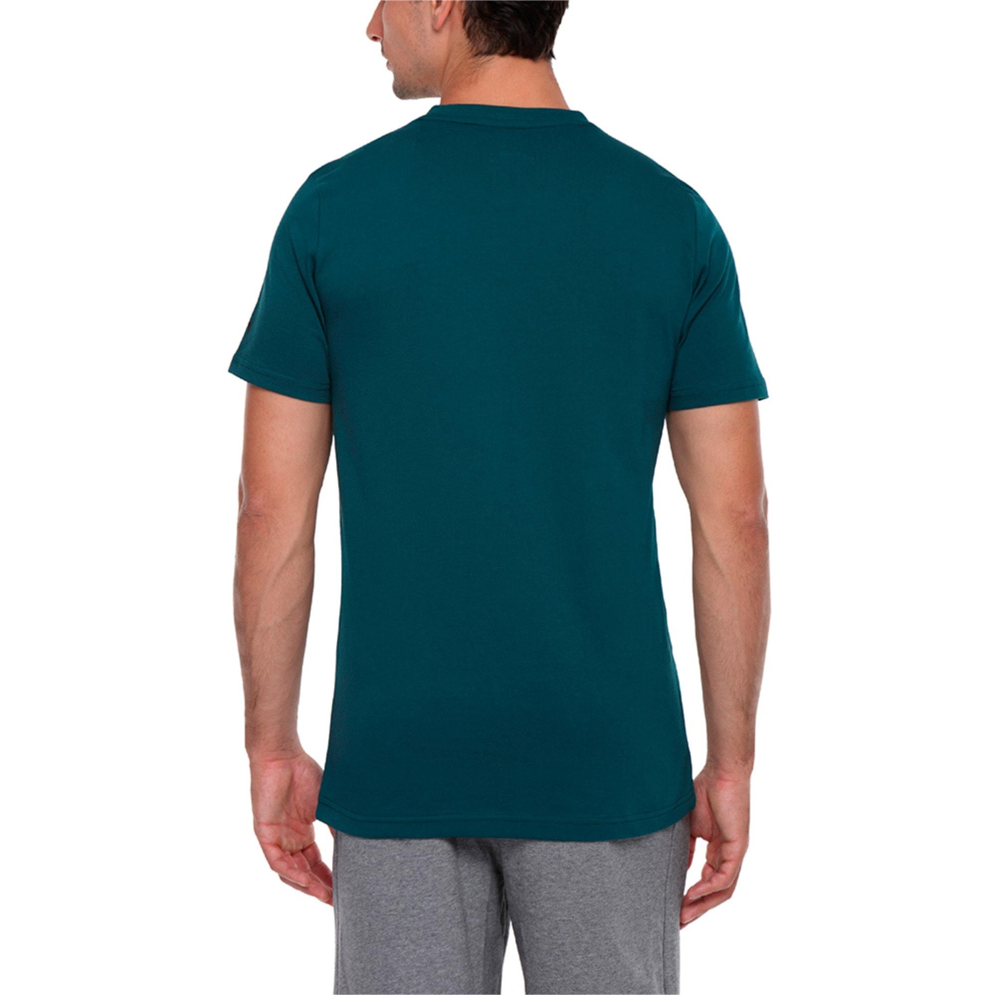 Thumbnail 3 of MERCEDES AMG PETRONAS Men's Logo T-Shirt, Deep Teal, medium-IND