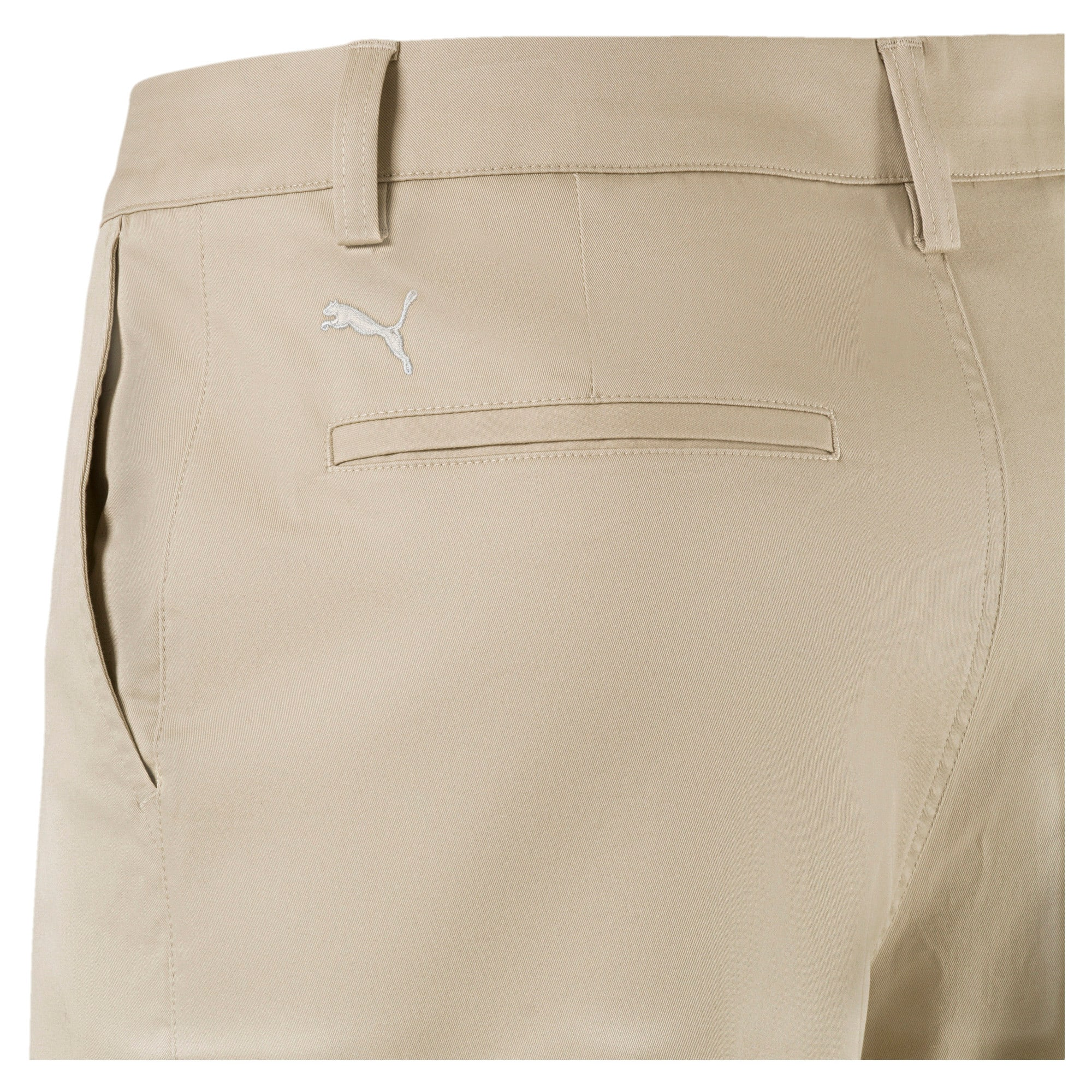 Thumbnail 4 of Golf Men's Tailored Chino Shorts, White Pepper, medium-IND