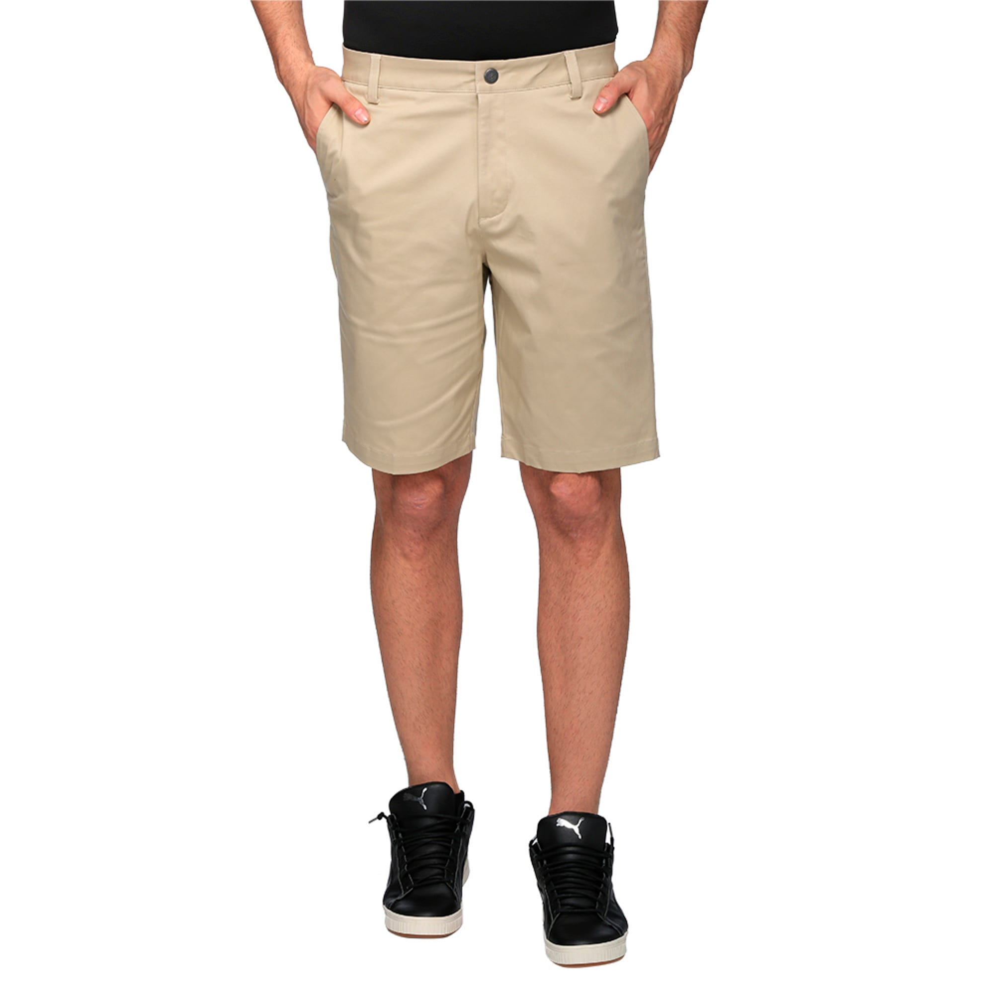 Thumbnail 2 of Golf Men's Tailored Chino Shorts, White Pepper, medium-IND