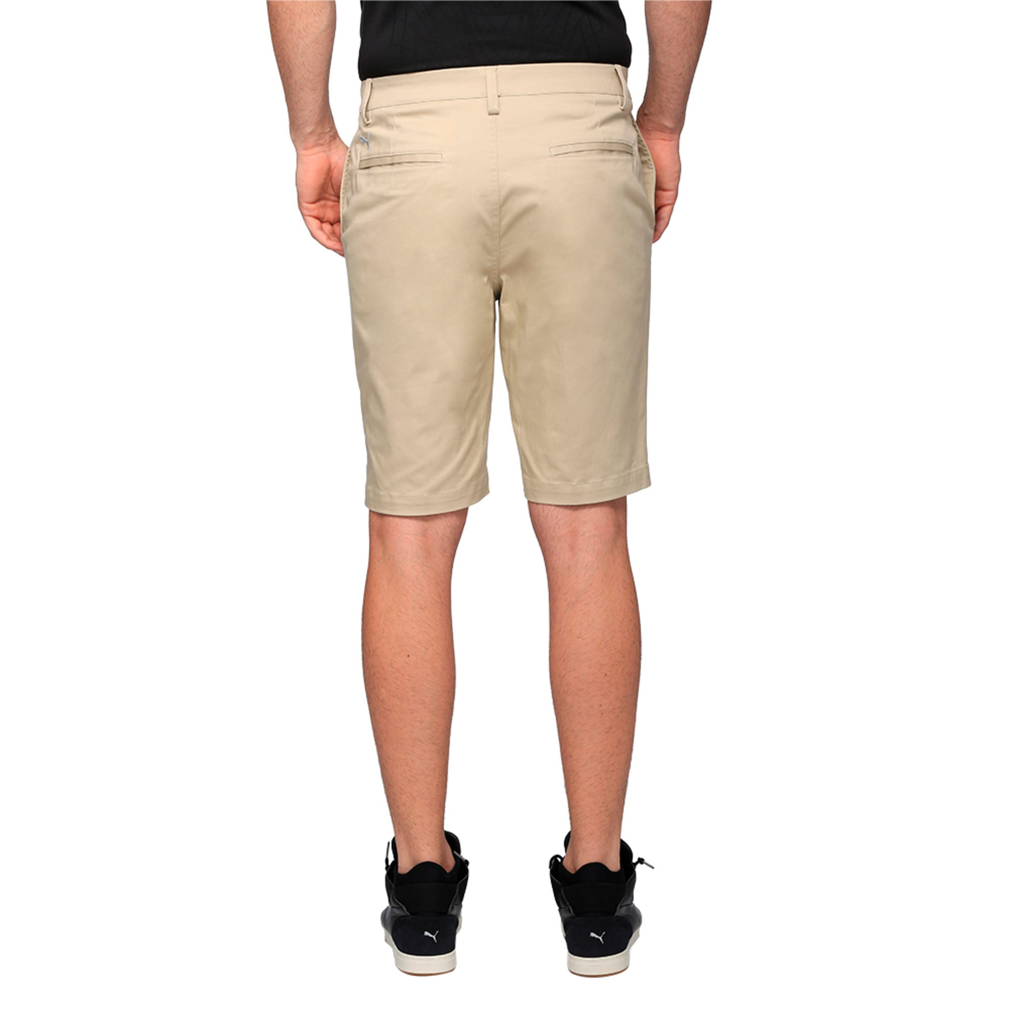 Thumbnail 3 of Golf Men's Tailored Chino Shorts, White Pepper, medium-IND