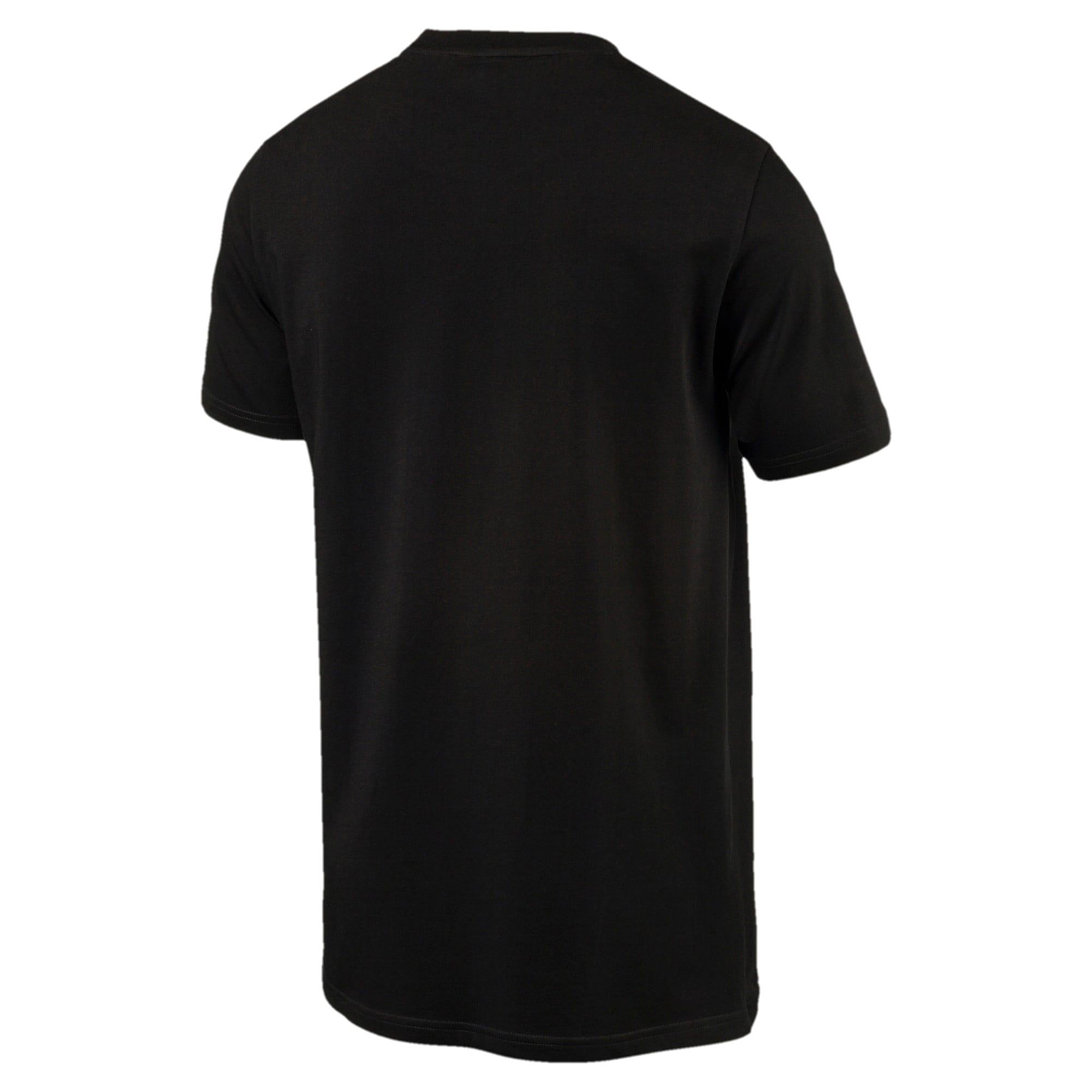 Thumbnail 2 of Archive Men's Logo T-Shirt, Cotton Black, medium-IND