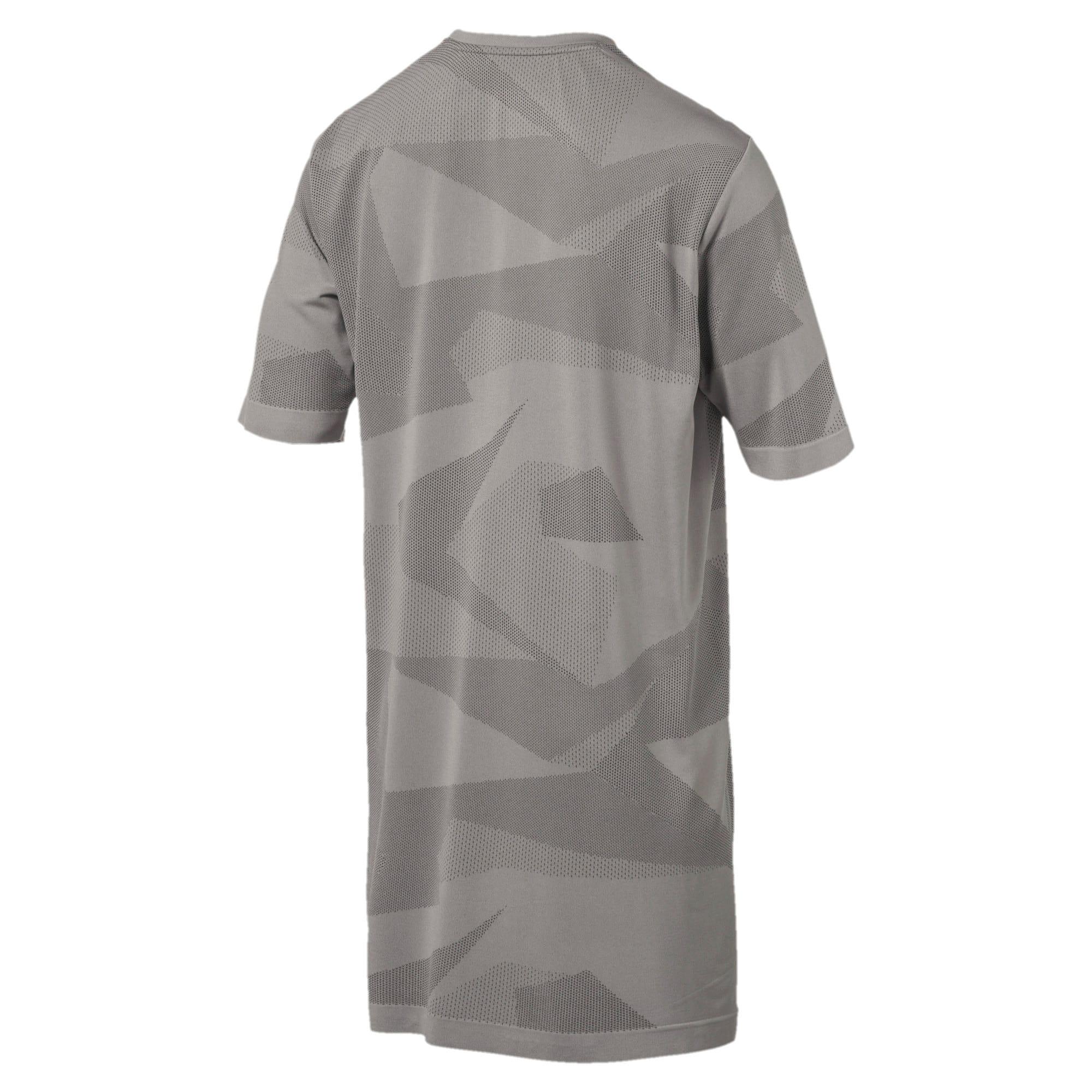Thumbnail 3 of Evolution Men's evoKNIT Image T-Shirt, Medium Gray Heather, medium-IND