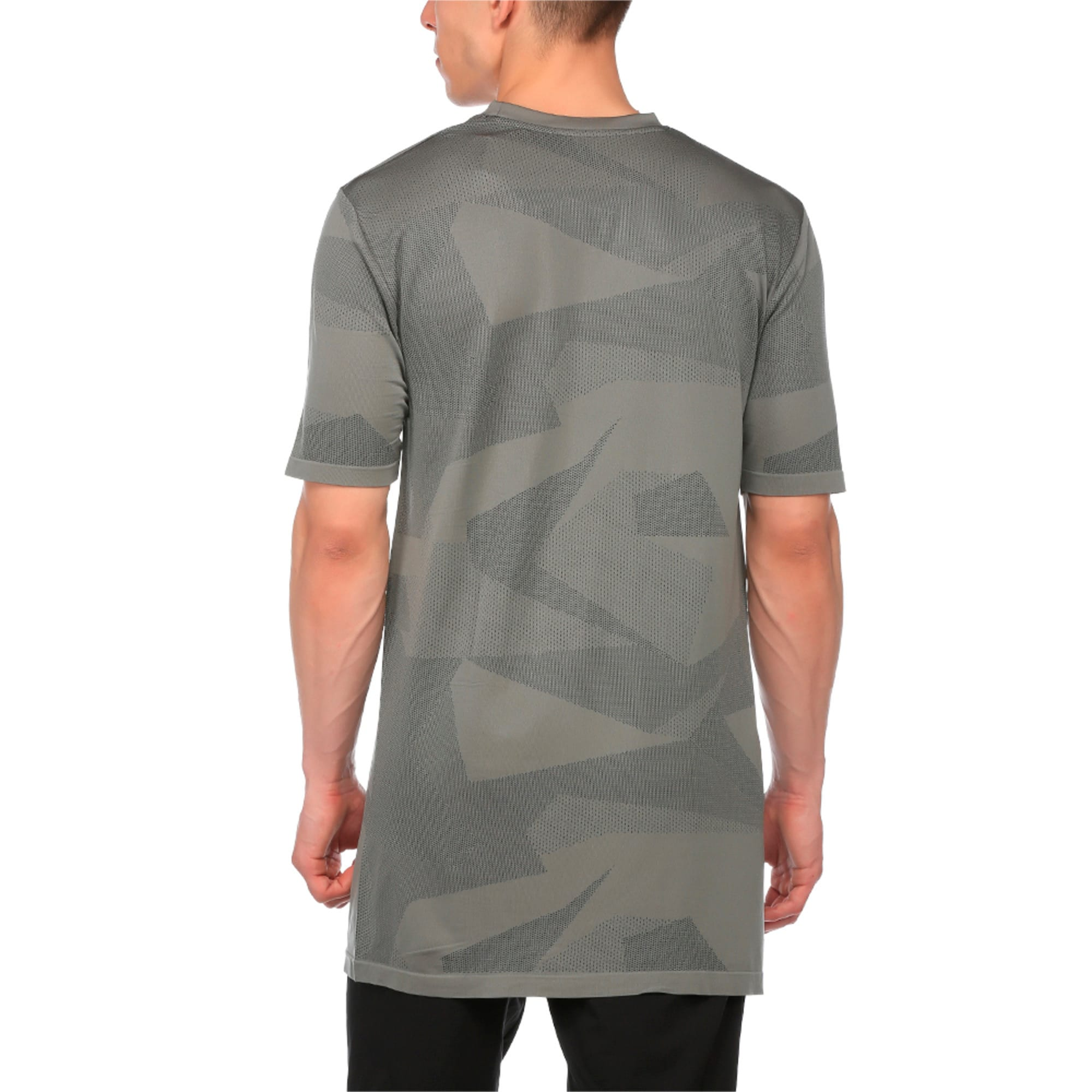 Thumbnail 1 of Evolution Men's evoKNIT Image T-Shirt, Medium Gray Heather, medium-IND