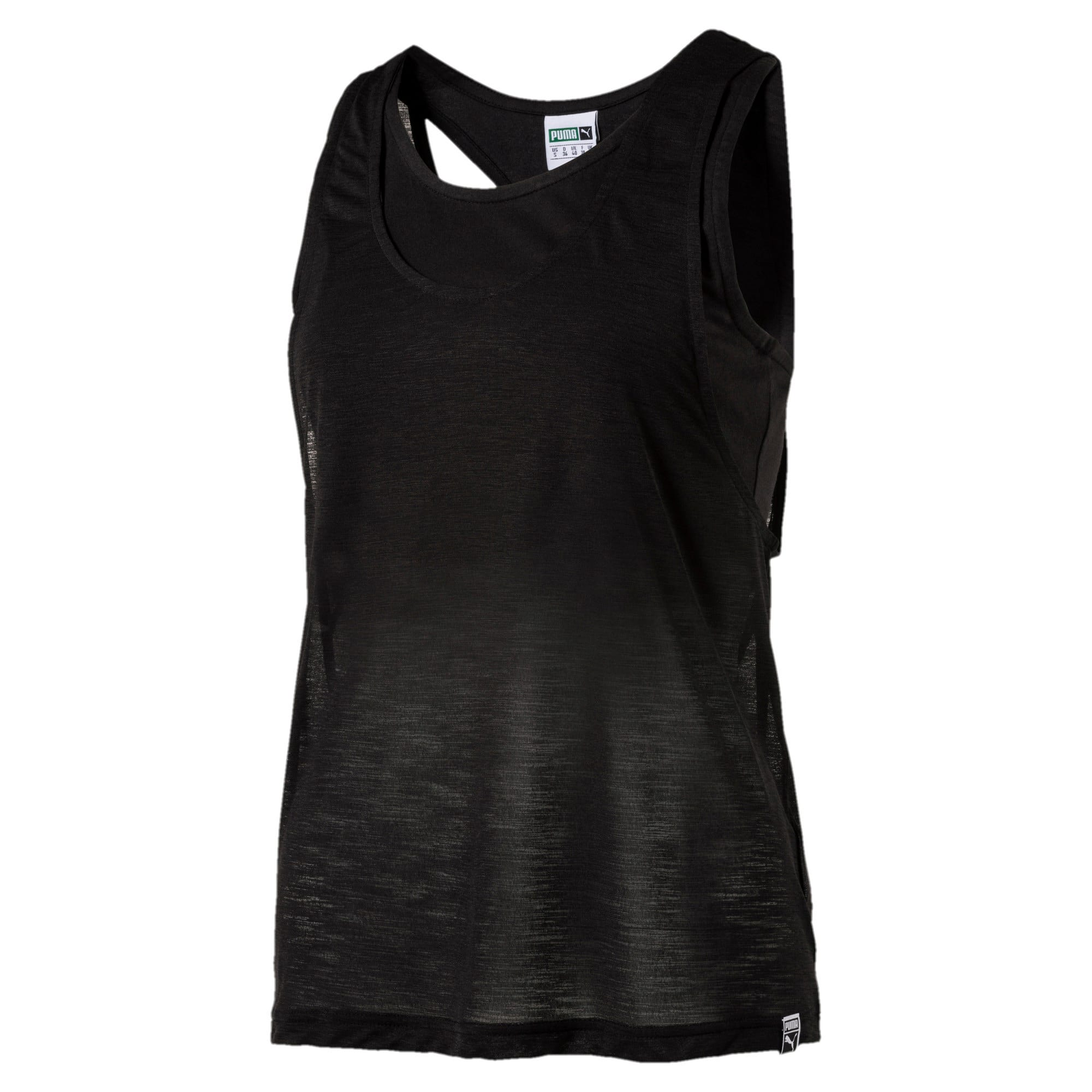 Thumbnail 2 of Archive Women's Overlay Tank Top, Puma Black, medium-IND