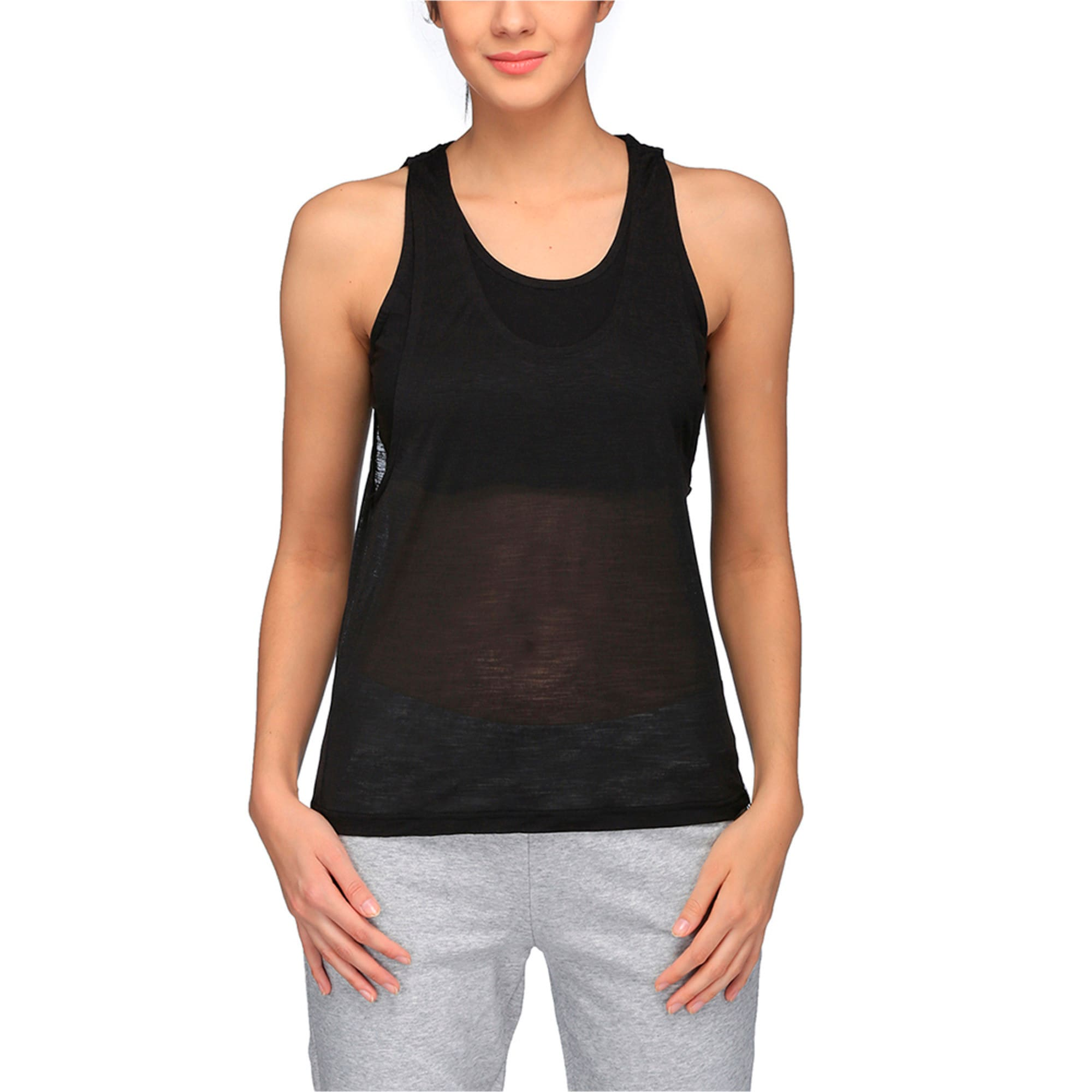 Thumbnail 1 of Archive Women's Overlay Tank Top, Puma Black, medium-IND