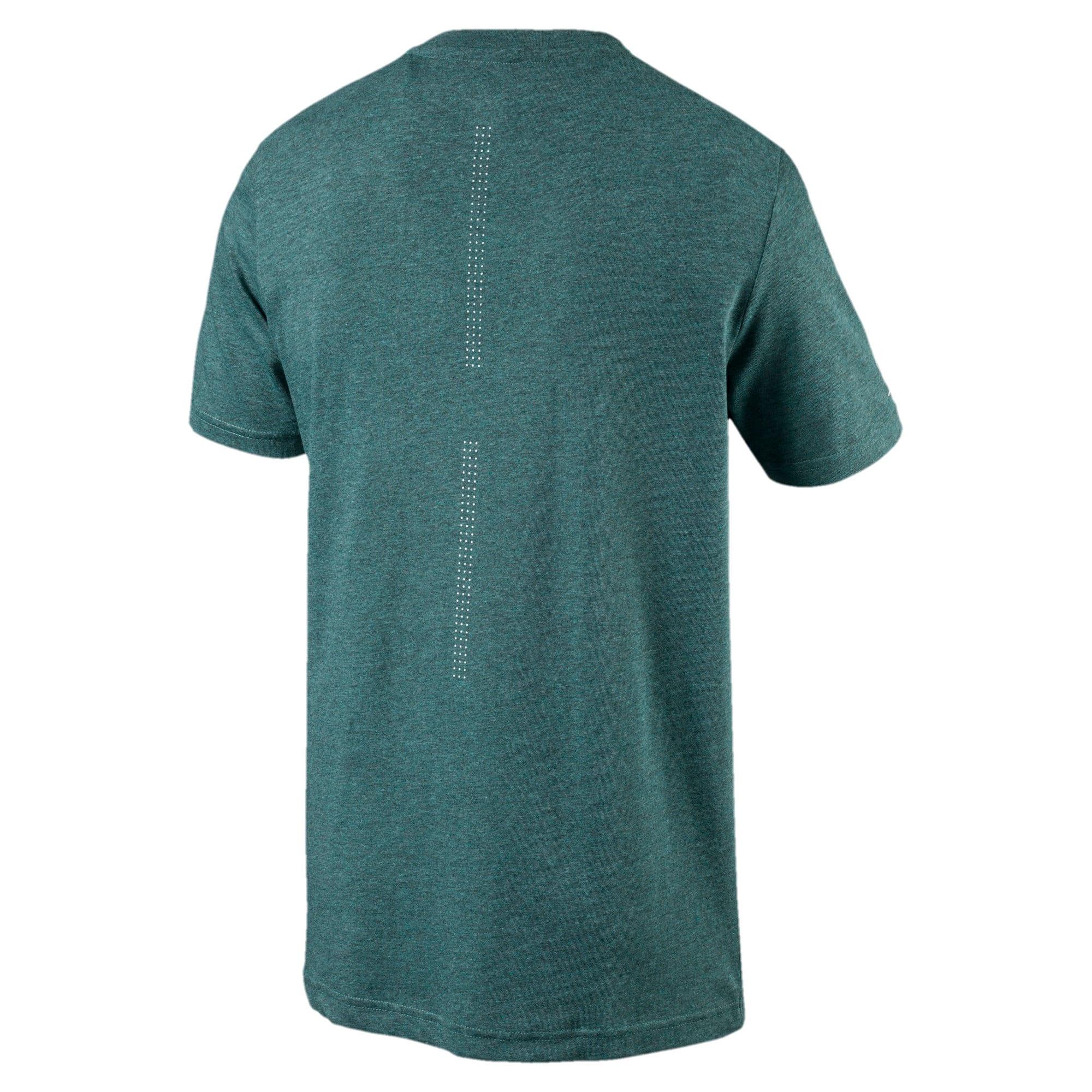 Thumbnail 3 of MERCEDES AMG PETRONAS Men's Driver T-Shirt, Deep Teal Heather, medium-IND
