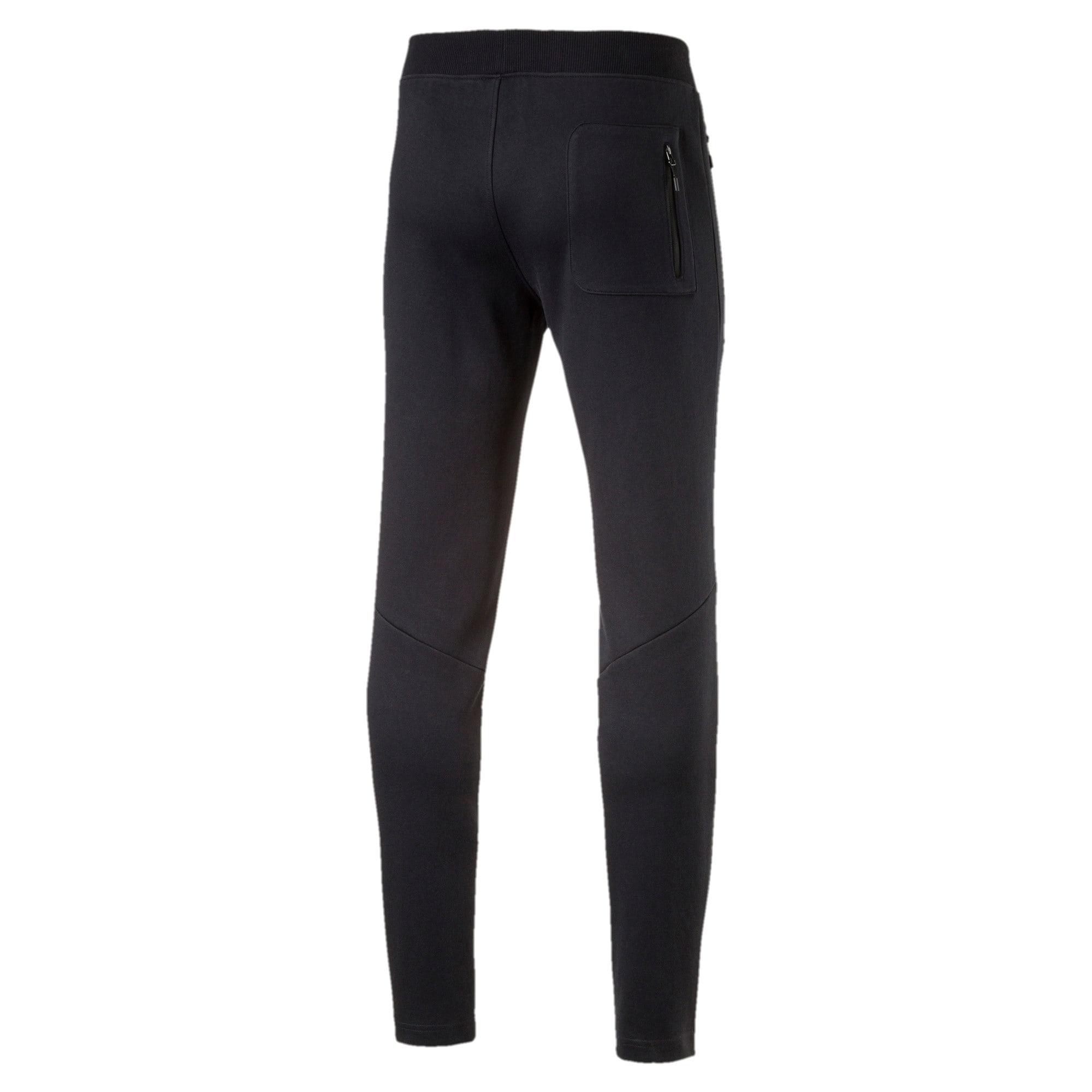 Thumbnail 5 of MERCEDES AMG PETRONAS Men's Sweatpants, Puma Black, medium-IND