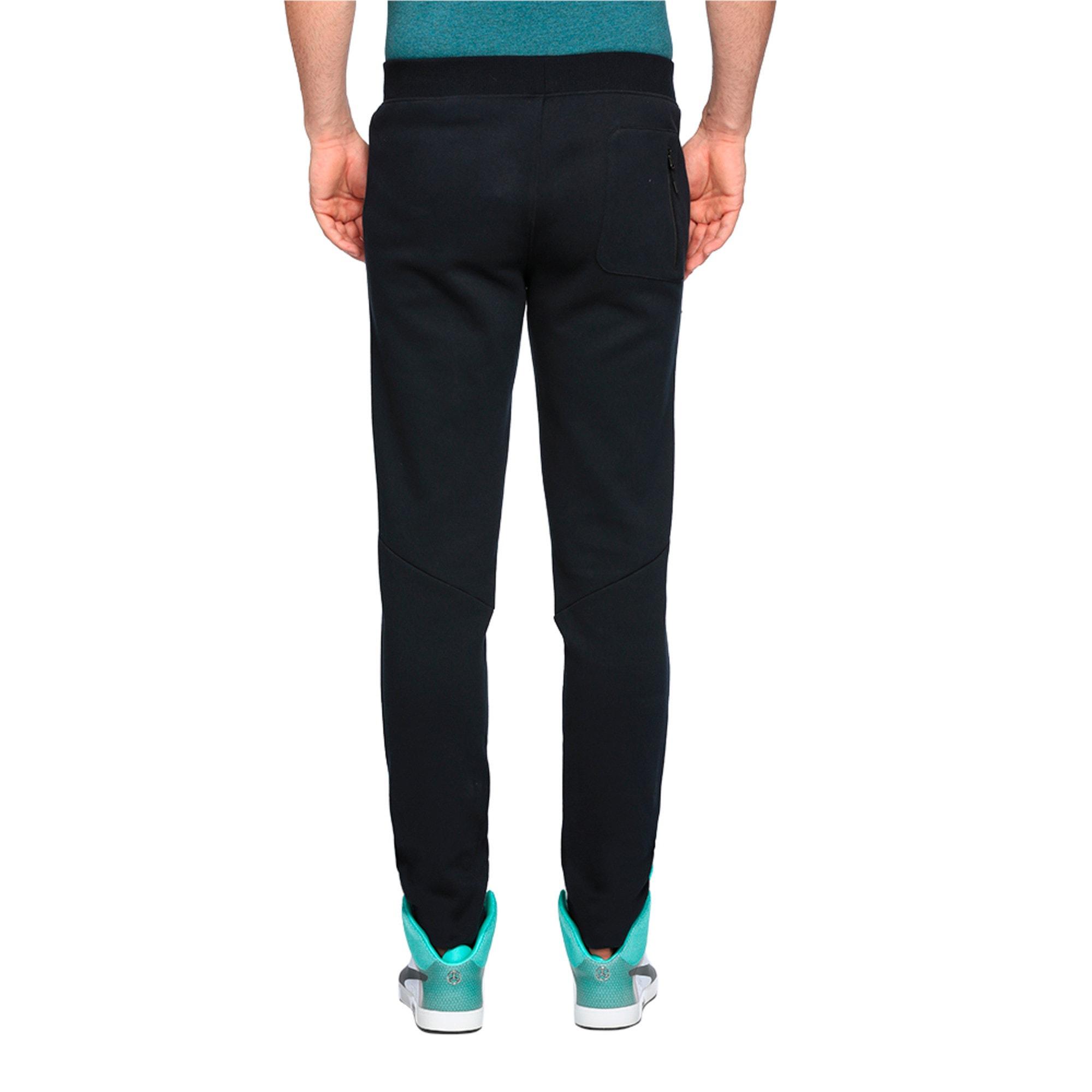 Thumbnail 3 of MERCEDES AMG PETRONAS Men's Sweatpants, Puma Black, medium-IND