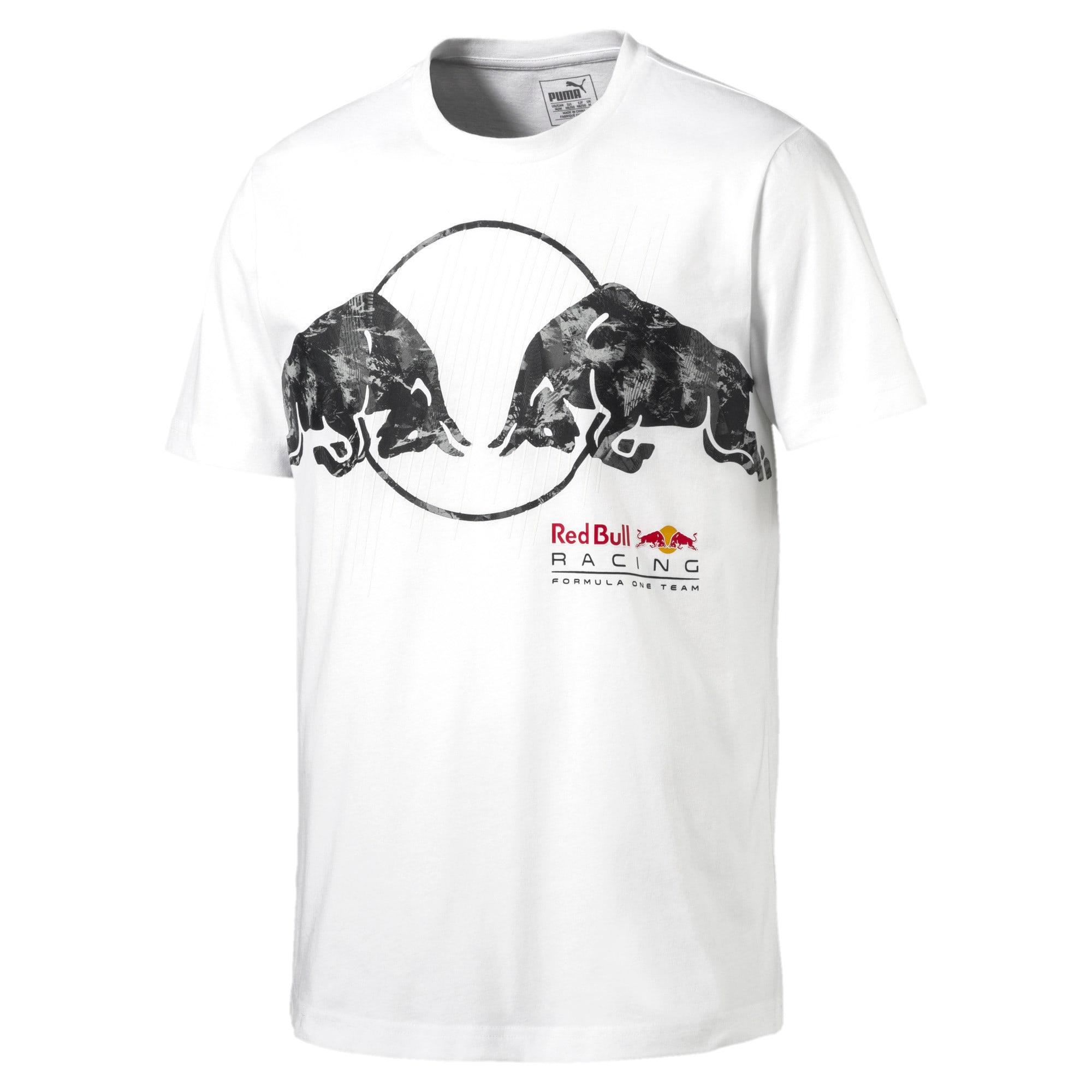 Thumbnail 4 of Red Bull Racing Men's Graphic T-Shirt, Puma White, medium-IND