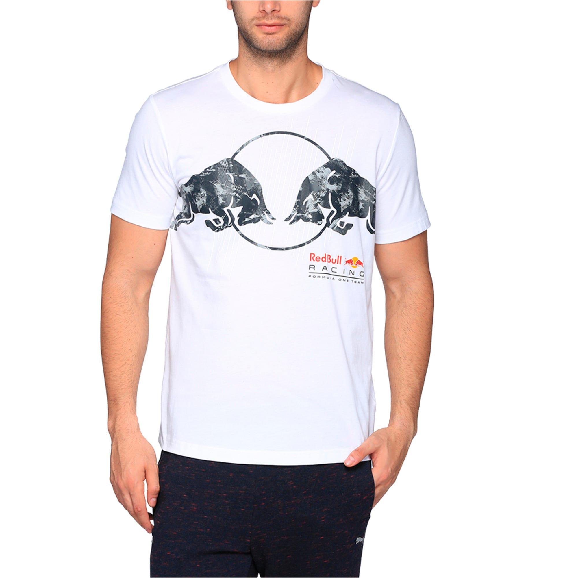 Thumbnail 1 of Red Bull Racing Men's Graphic T-Shirt, Puma White, medium-IND