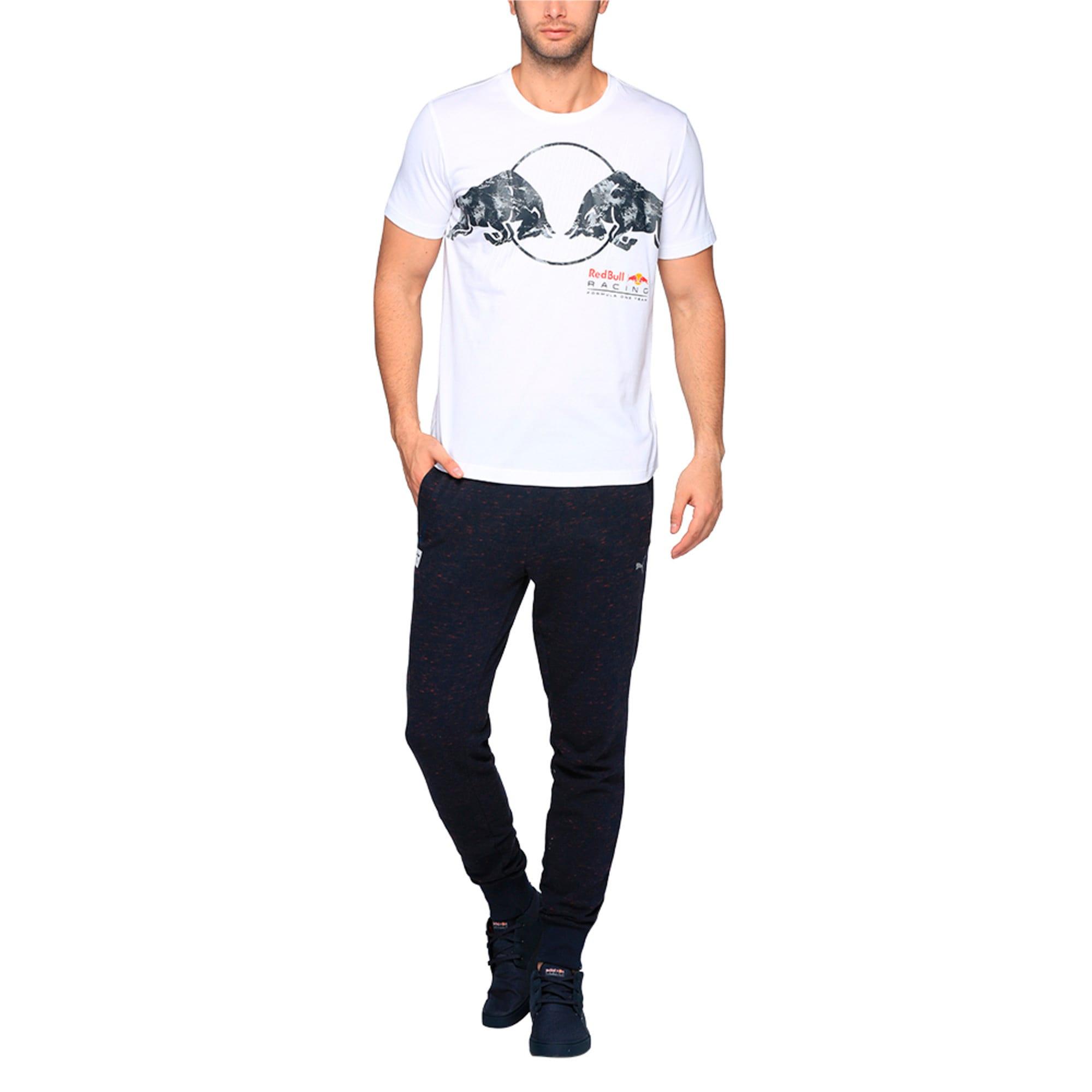 Thumbnail 3 of Red Bull Racing Men's Graphic T-Shirt, Puma White, medium-IND