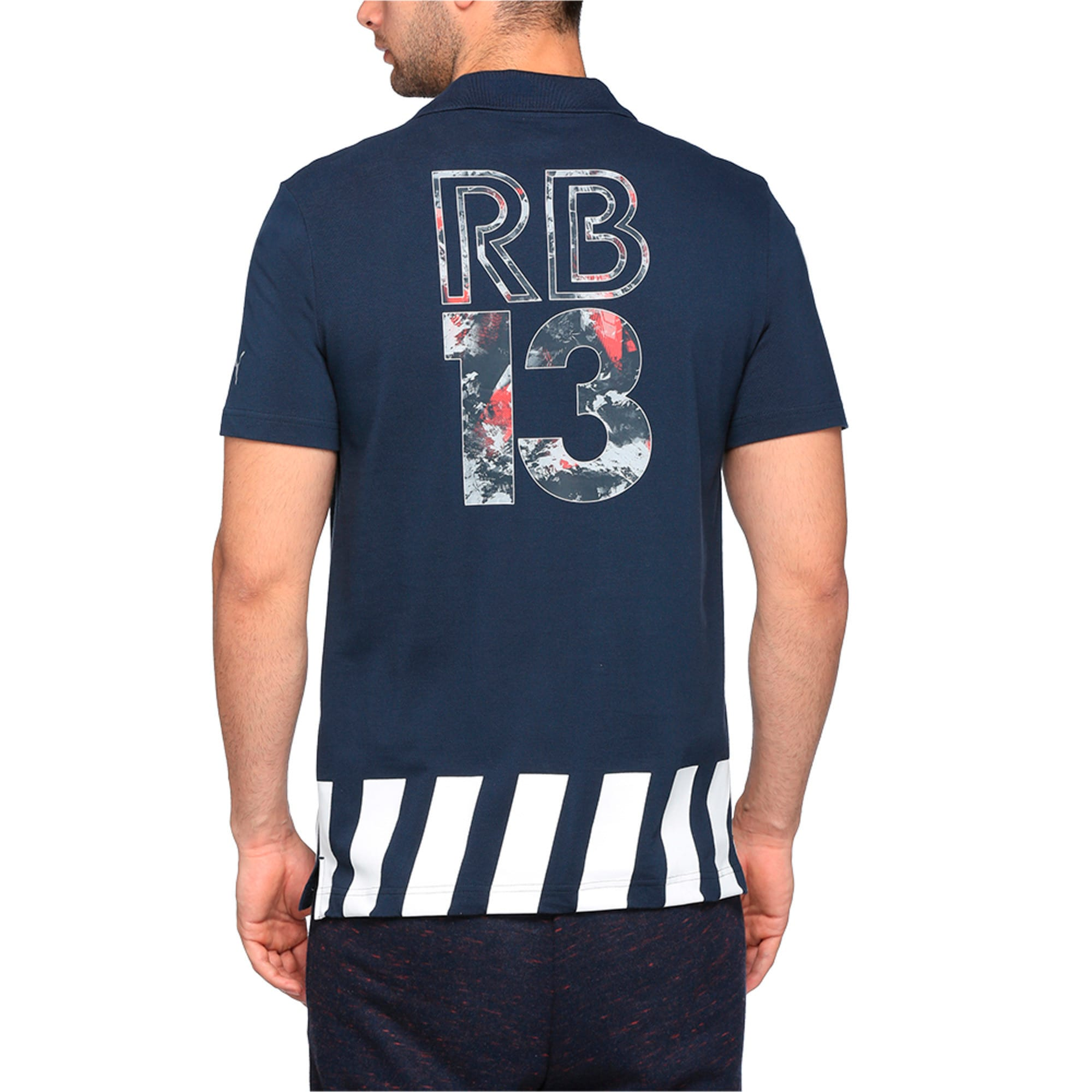 Thumbnail 3 of Red Bull Racing Men's Polo, Total Eclipse, medium-IND
