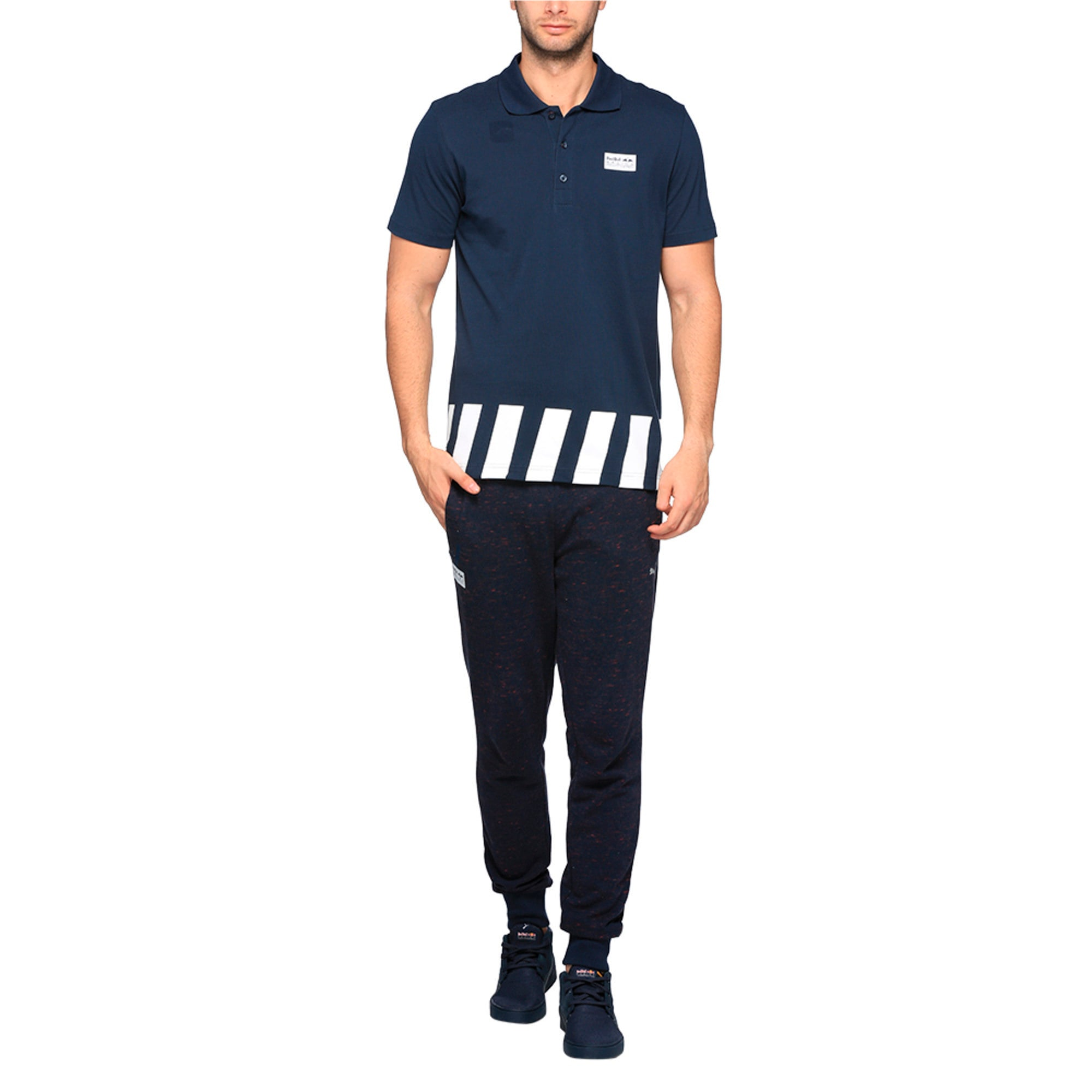 Thumbnail 4 of Red Bull Racing Men's Polo, Total Eclipse, medium-IND