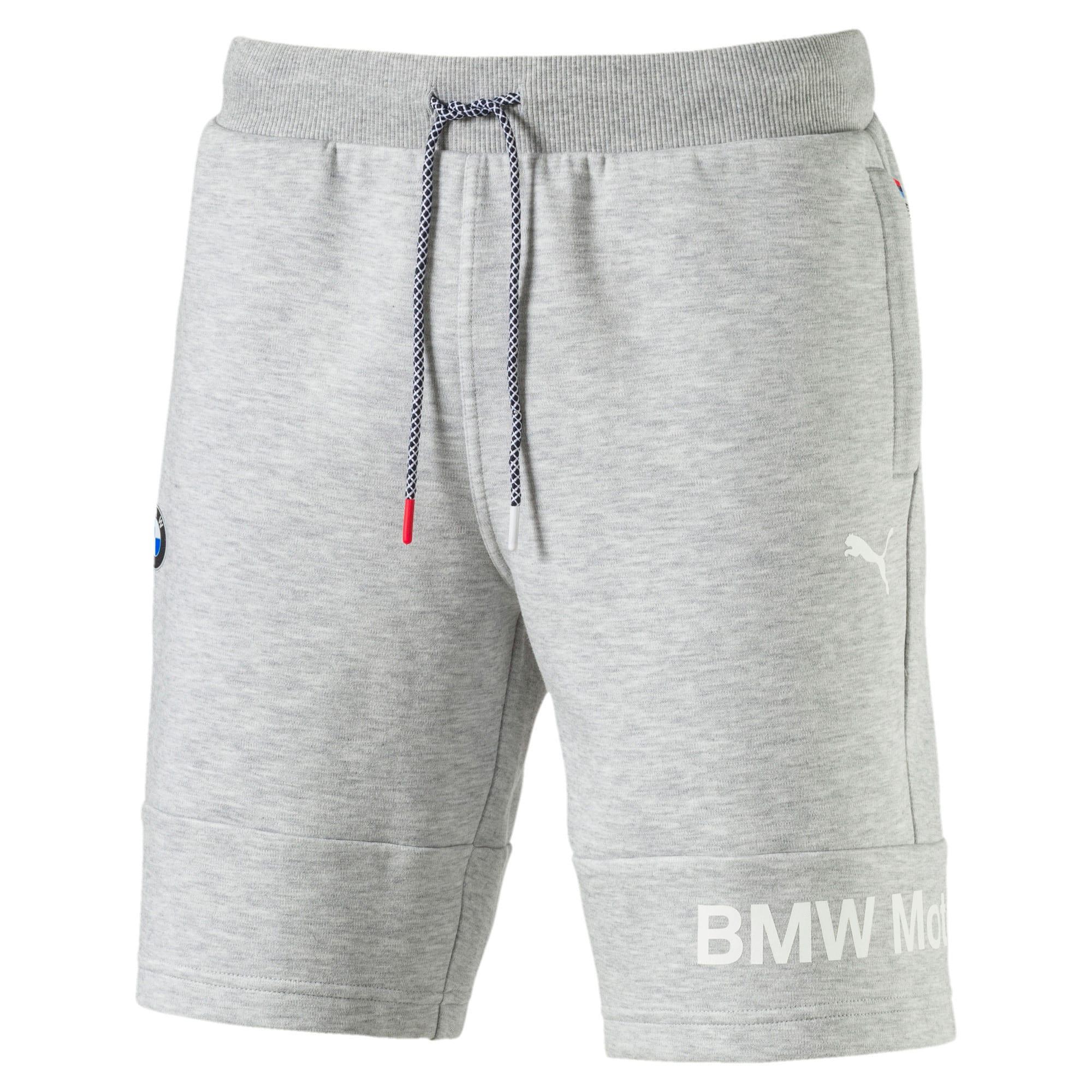 Thumbnail 2 of BMW Motorsport Men's Sweat Shorts, Light Gray Heather, medium-IND