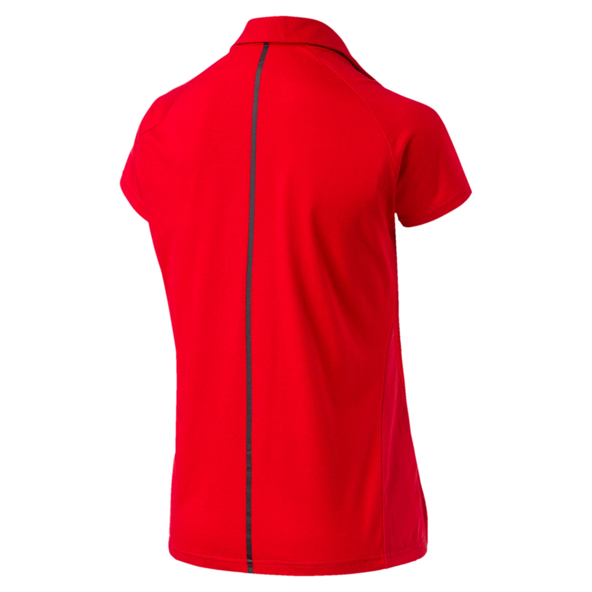 Thumbnail 3 of Ferrari Women's Polo, Rosso Corsa, medium-IND