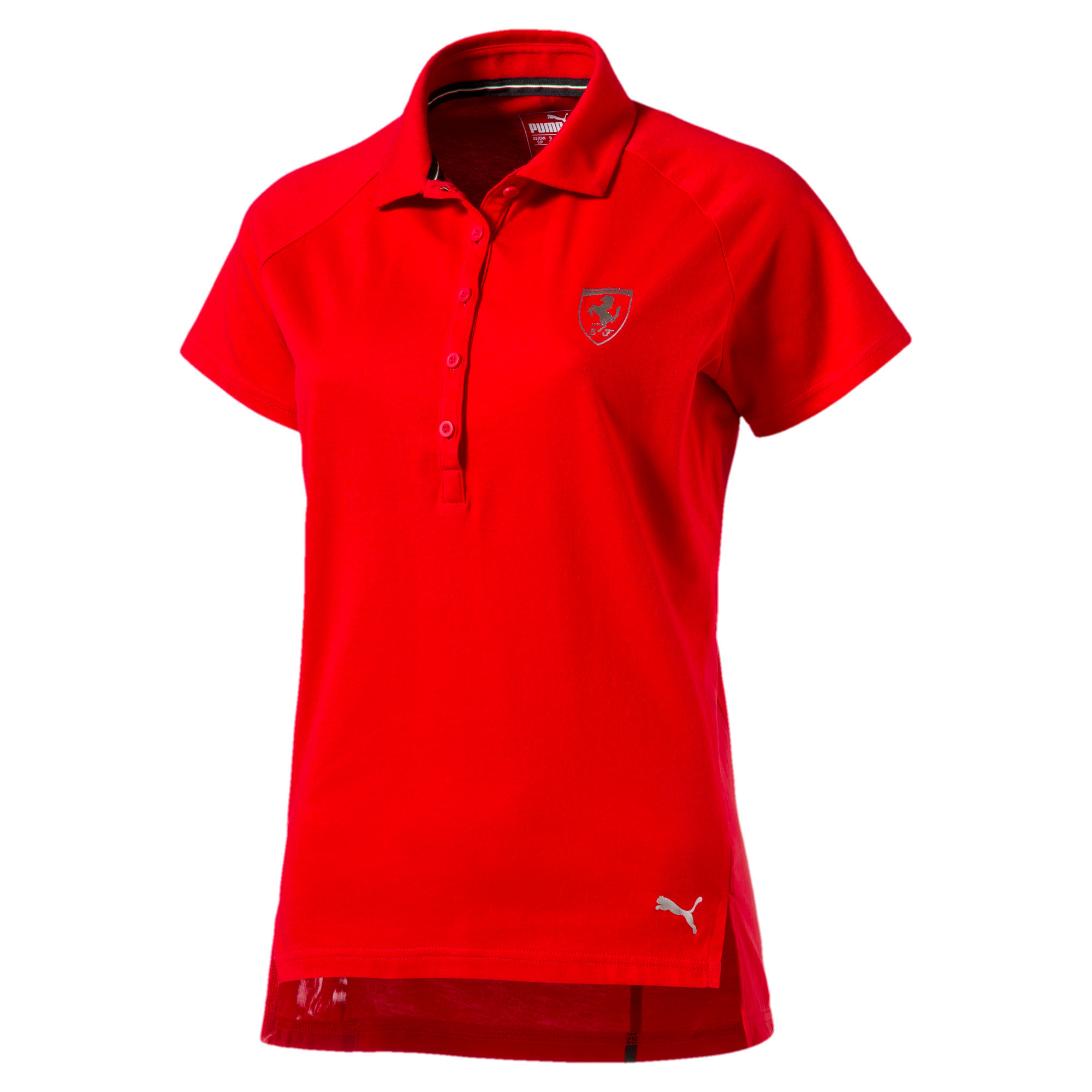 Thumbnail 4 of Ferrari Women's Polo, Rosso Corsa, medium-IND