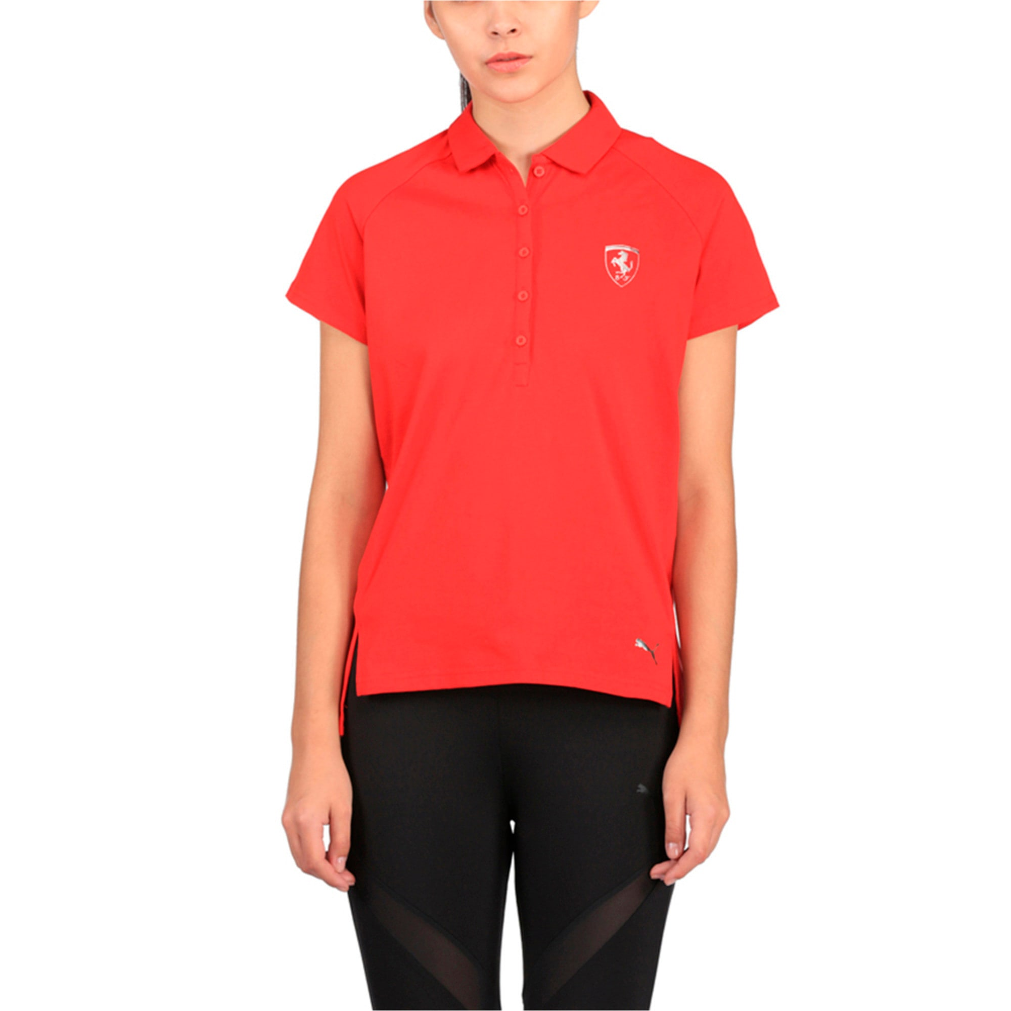 Thumbnail 1 of Ferrari Women's Polo, Rosso Corsa, medium-IND