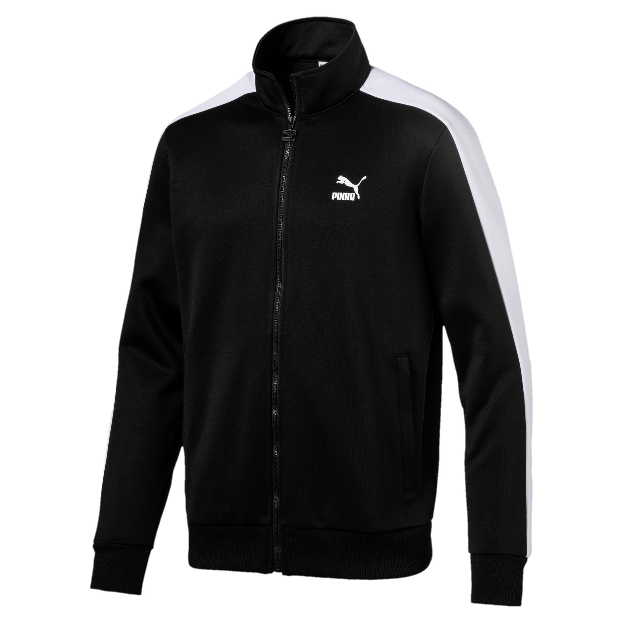 Thumbnail 4 of Archive Men's T7 Track Jacket, Puma Black, medium-IND