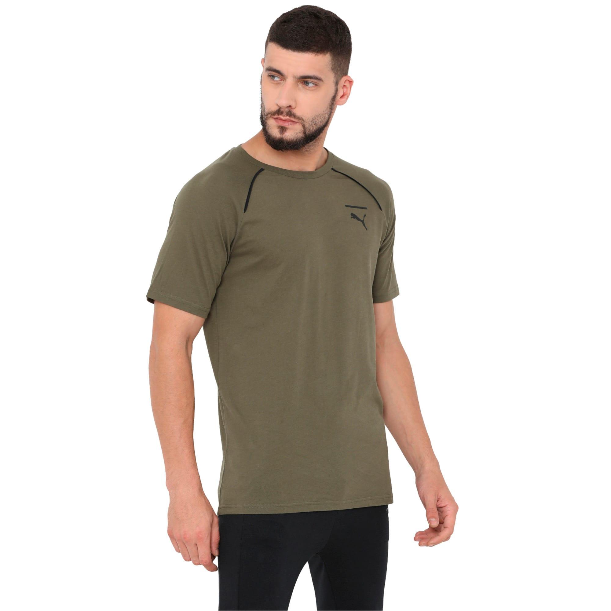Thumbnail 1 of Evolution Men's Core T-Shirt, Olive Night, medium-IND