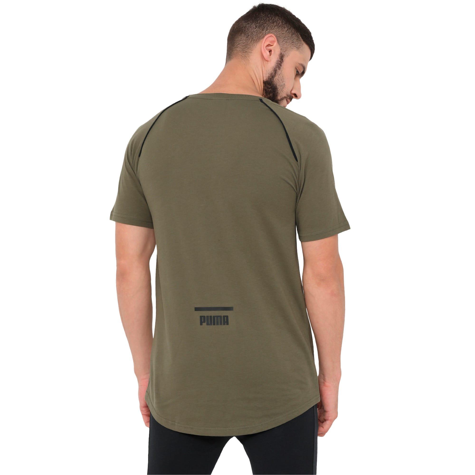 Thumbnail 2 of Evolution Men's Core T-Shirt, Olive Night, medium-IND