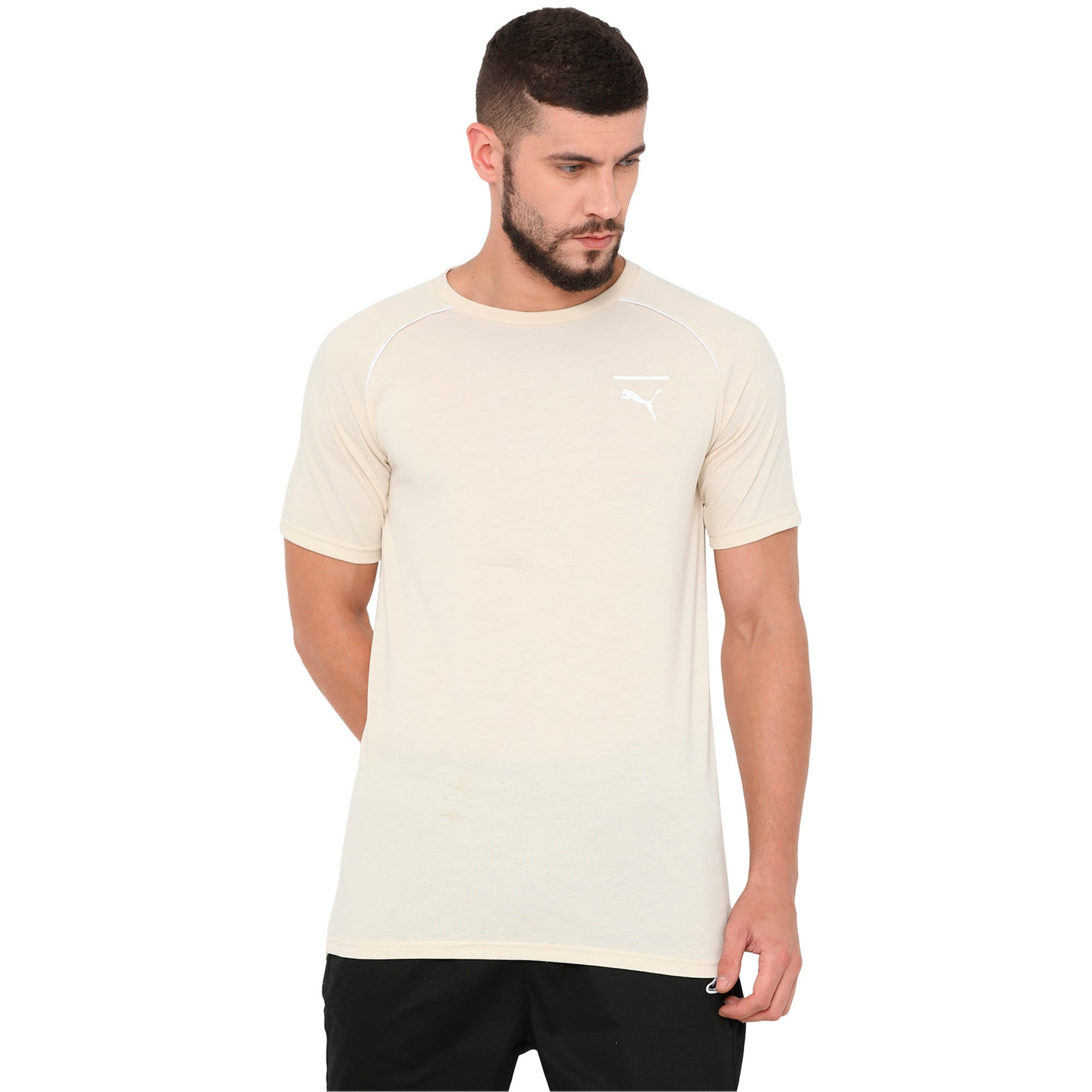 Thumbnail 3 of Evolution Men's Core T-Shirt, Birch, medium-IND