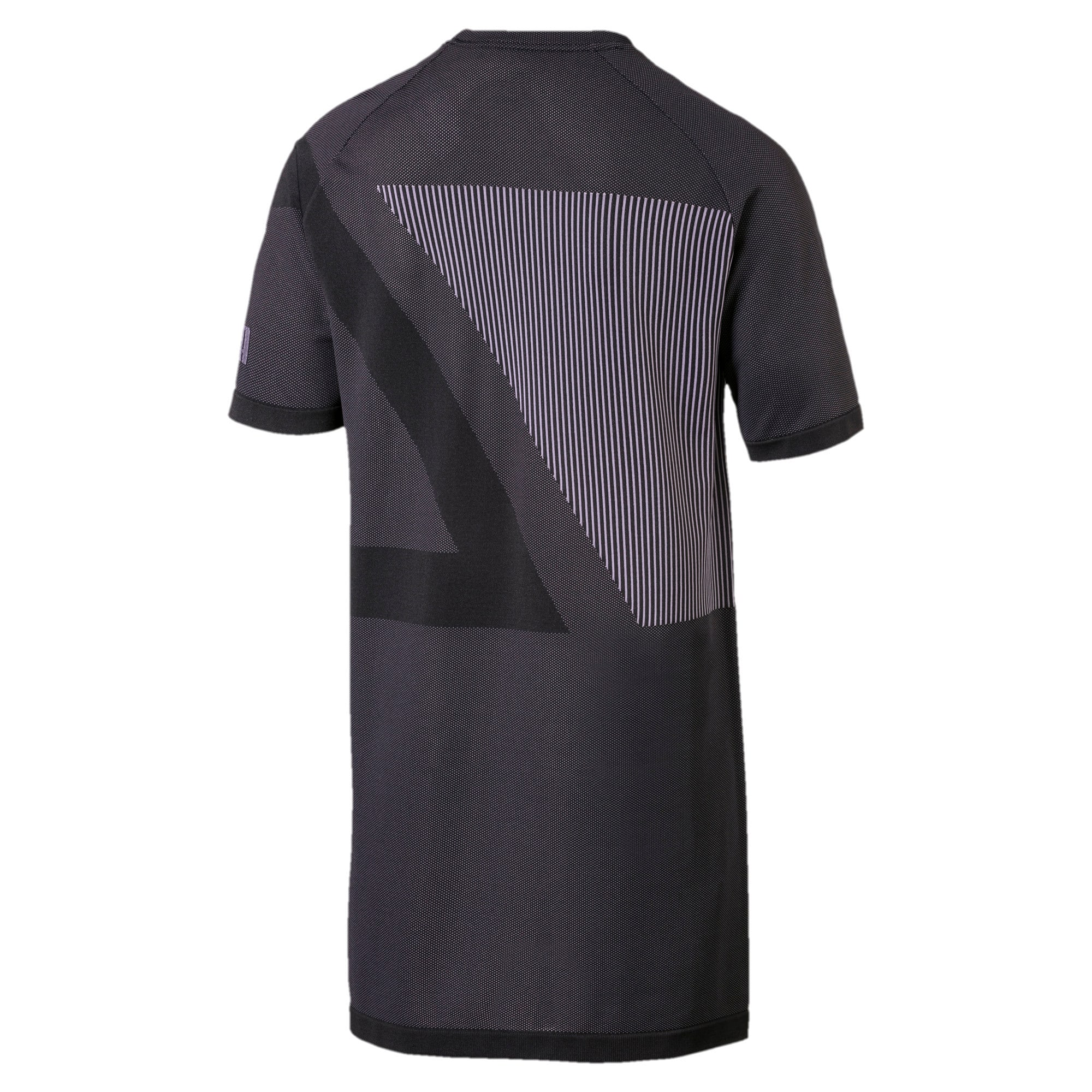 Thumbnail 5 of Evolution Men's evoKNIT T-Shirt, Puma Black, medium-IND