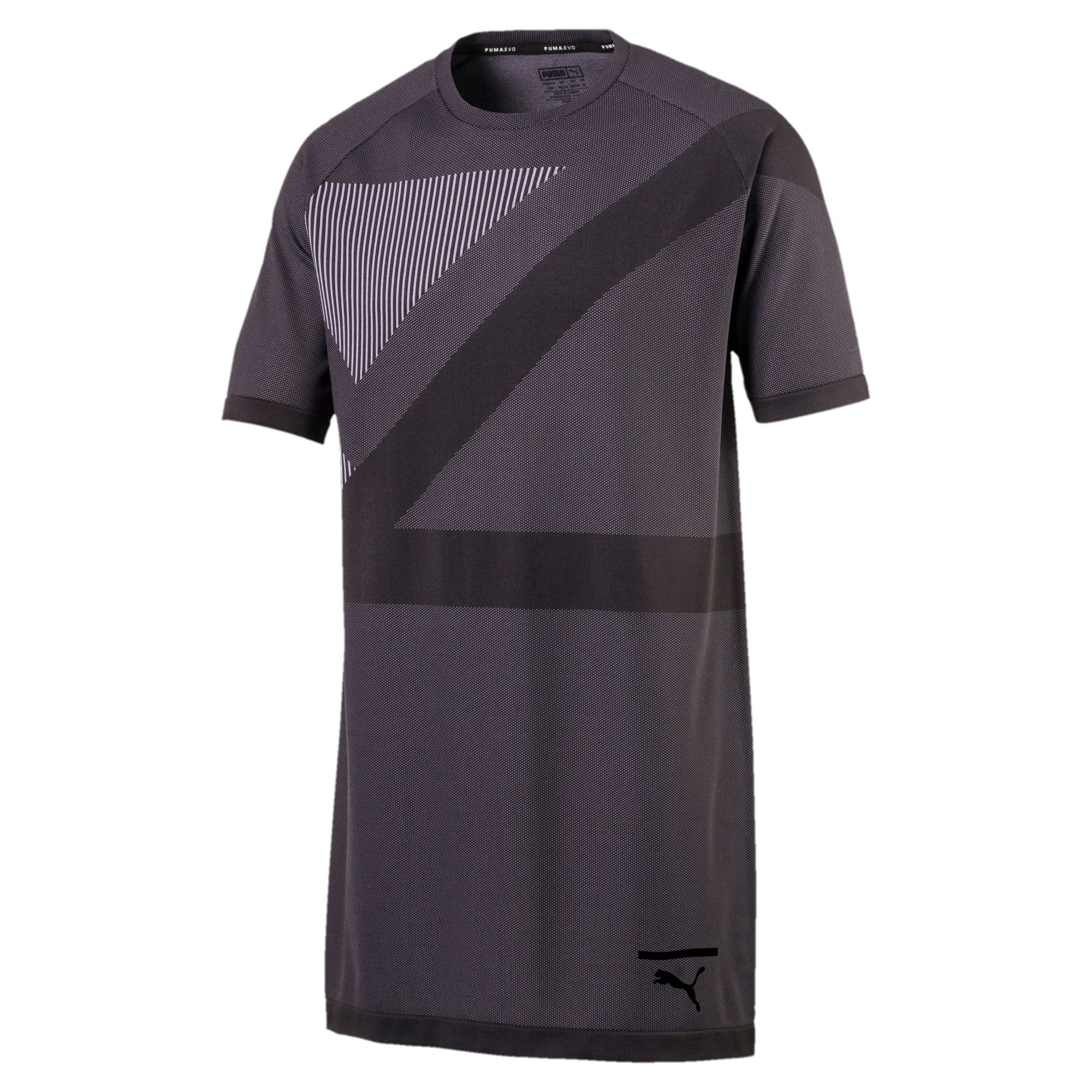 Thumbnail 1 of Evolution Men's evoKNIT T-Shirt, Puma Black, medium-IND