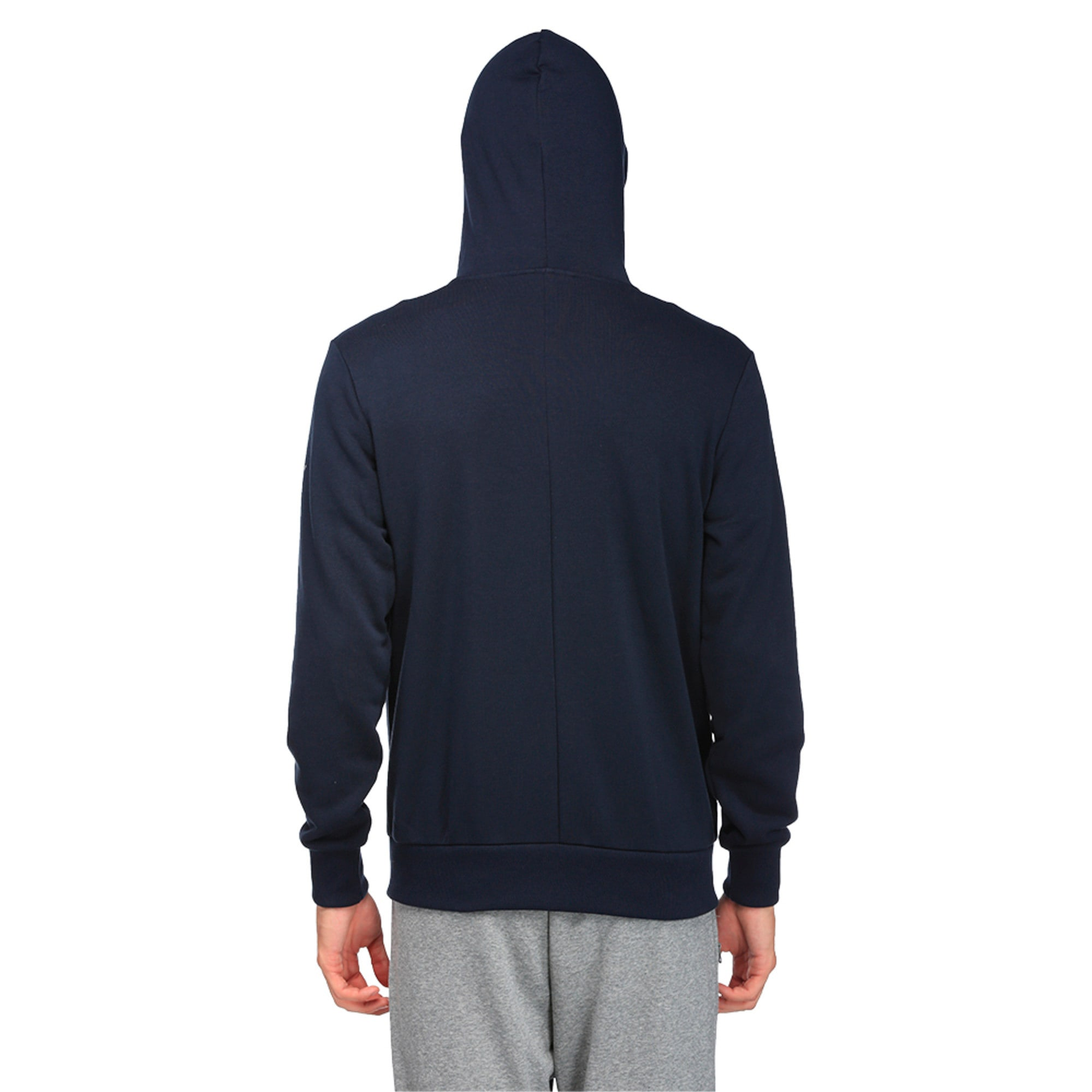Thumbnail 4 of Red Bull Racing Lifestyle Men's Hooded Sweat Jacket, Total Eclipse, medium-IND