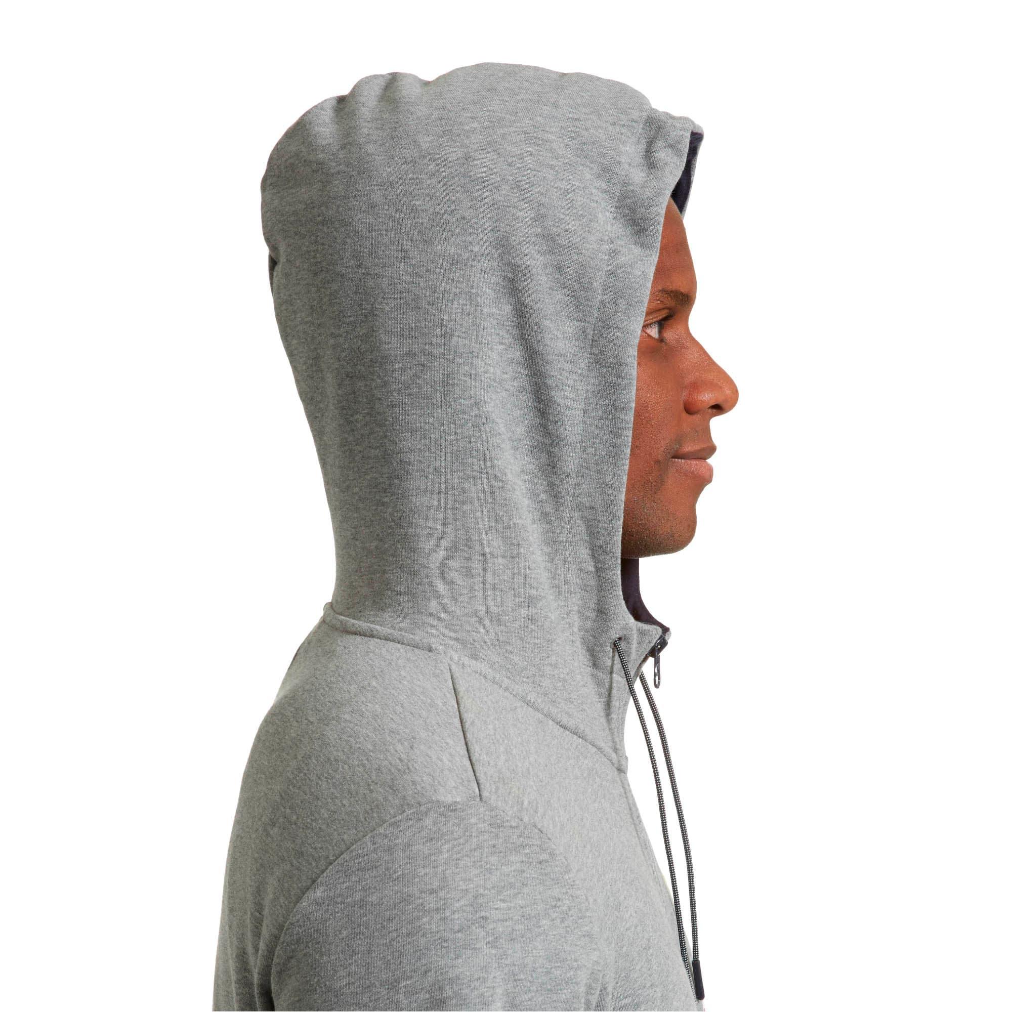 Thumbnail 4 of Red Bull Racing Lifestyle Men's Hooded Sweat Jacket, Medium Gray Heather - 1, medium