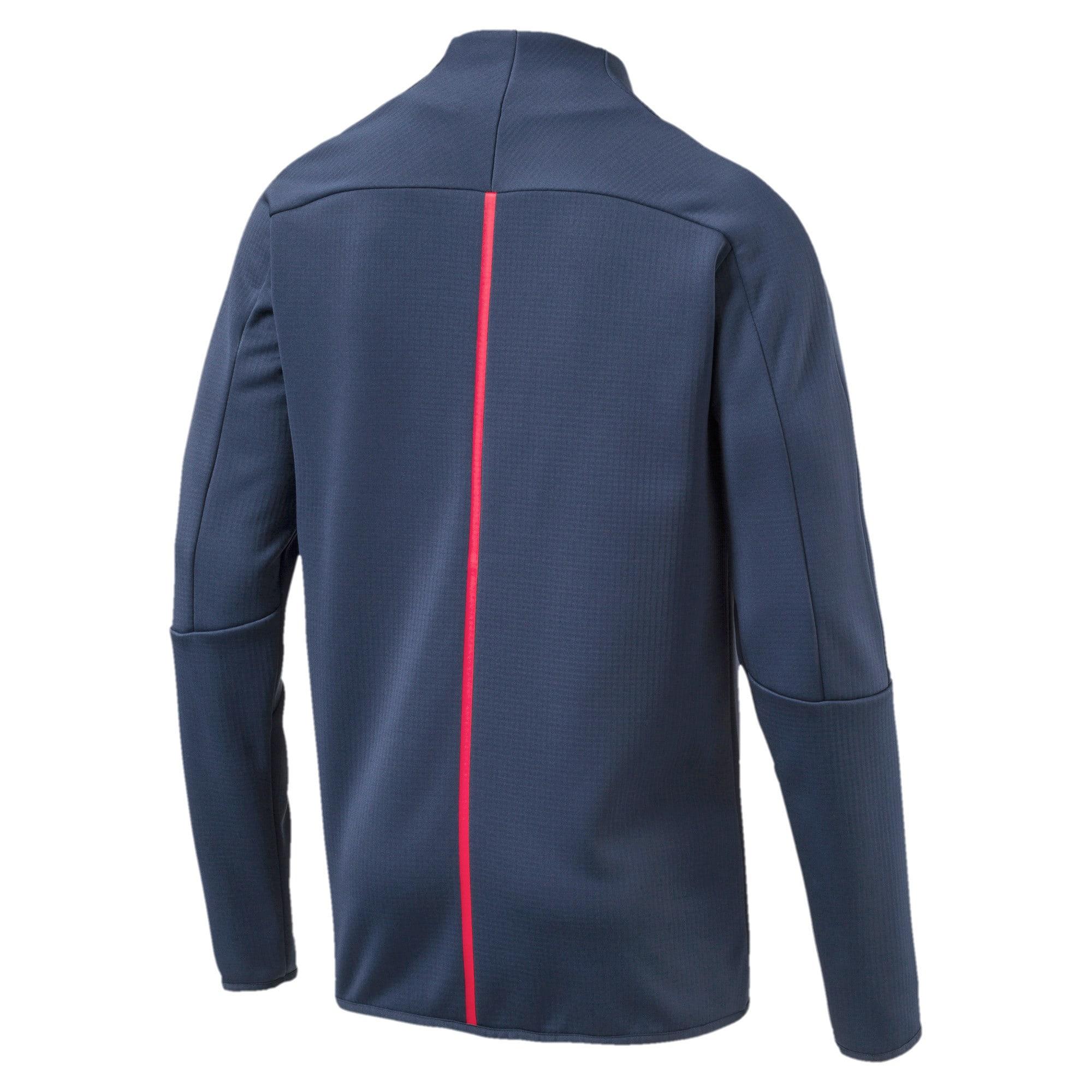 Thumbnail 5 of Ferrari Lifestyle Men's T7 Track Jacket, Sargasso Sea, medium-IND