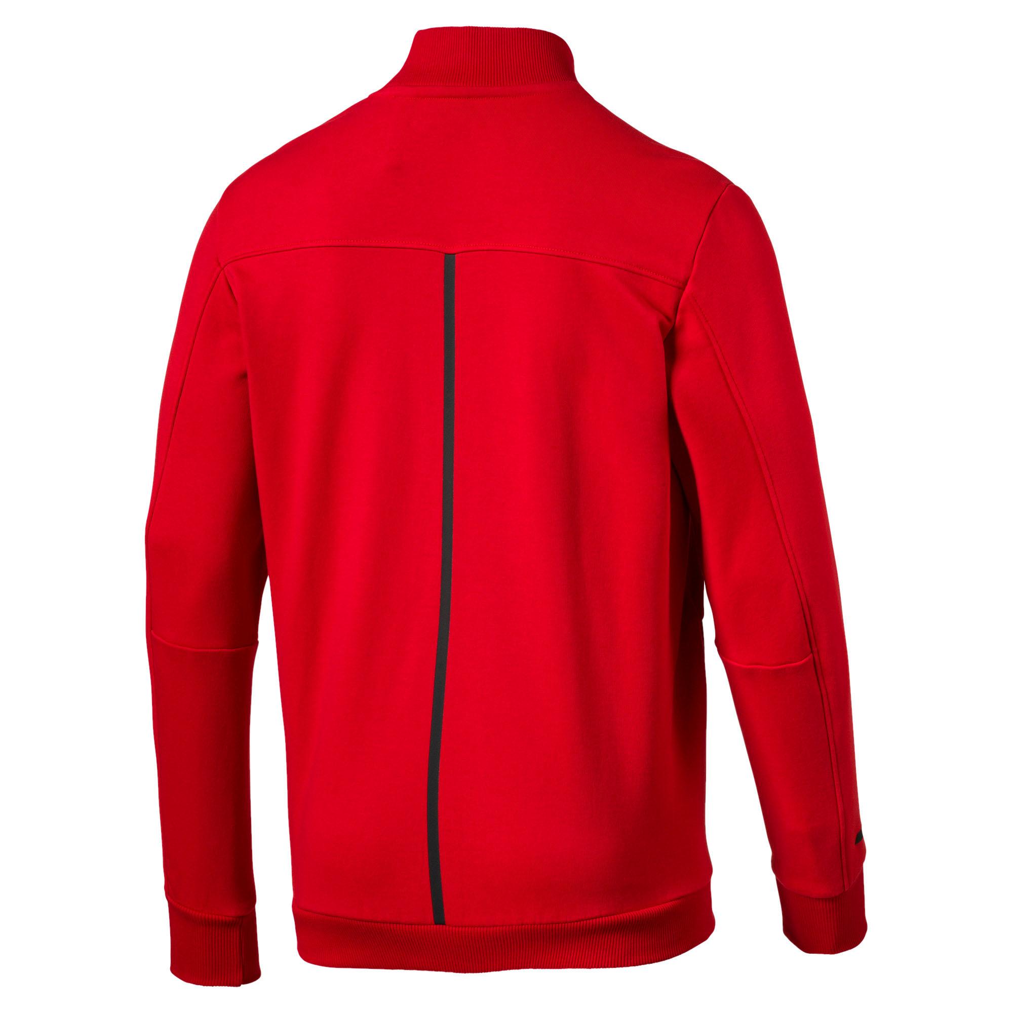 Thumbnail 4 of Ferrari Lifestyle Men's Sweat Jacket, Rosso Corsa, medium-IND
