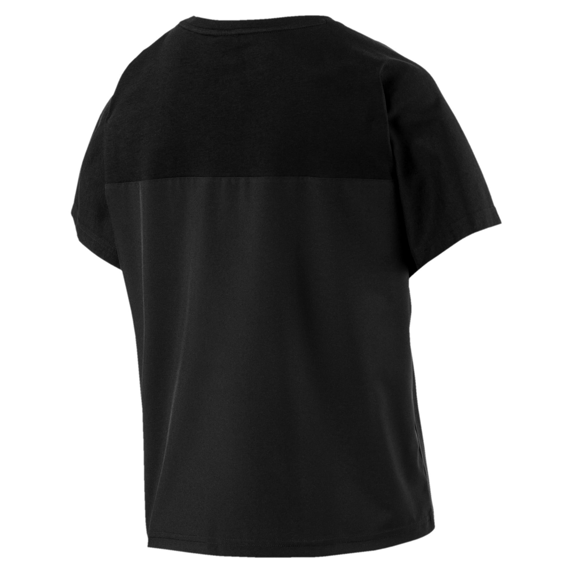 Thumbnail 3 of Evolution Women's T-Shirt, Puma Black, medium-IND