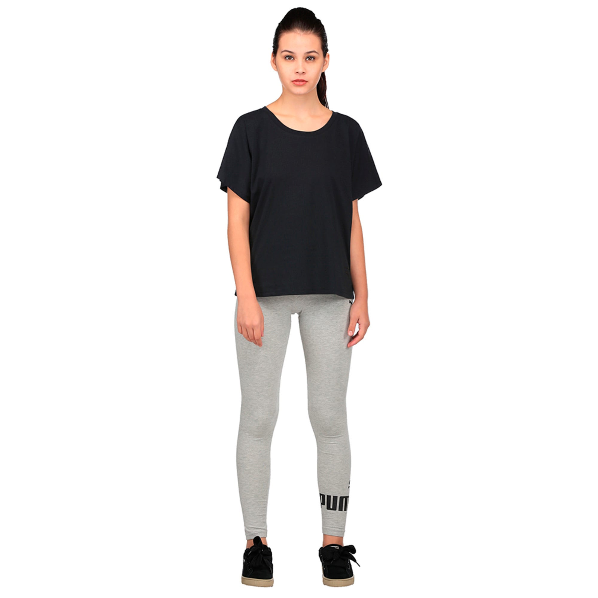 Thumbnail 4 of Evolution Women's T-Shirt, Puma Black, medium-IND