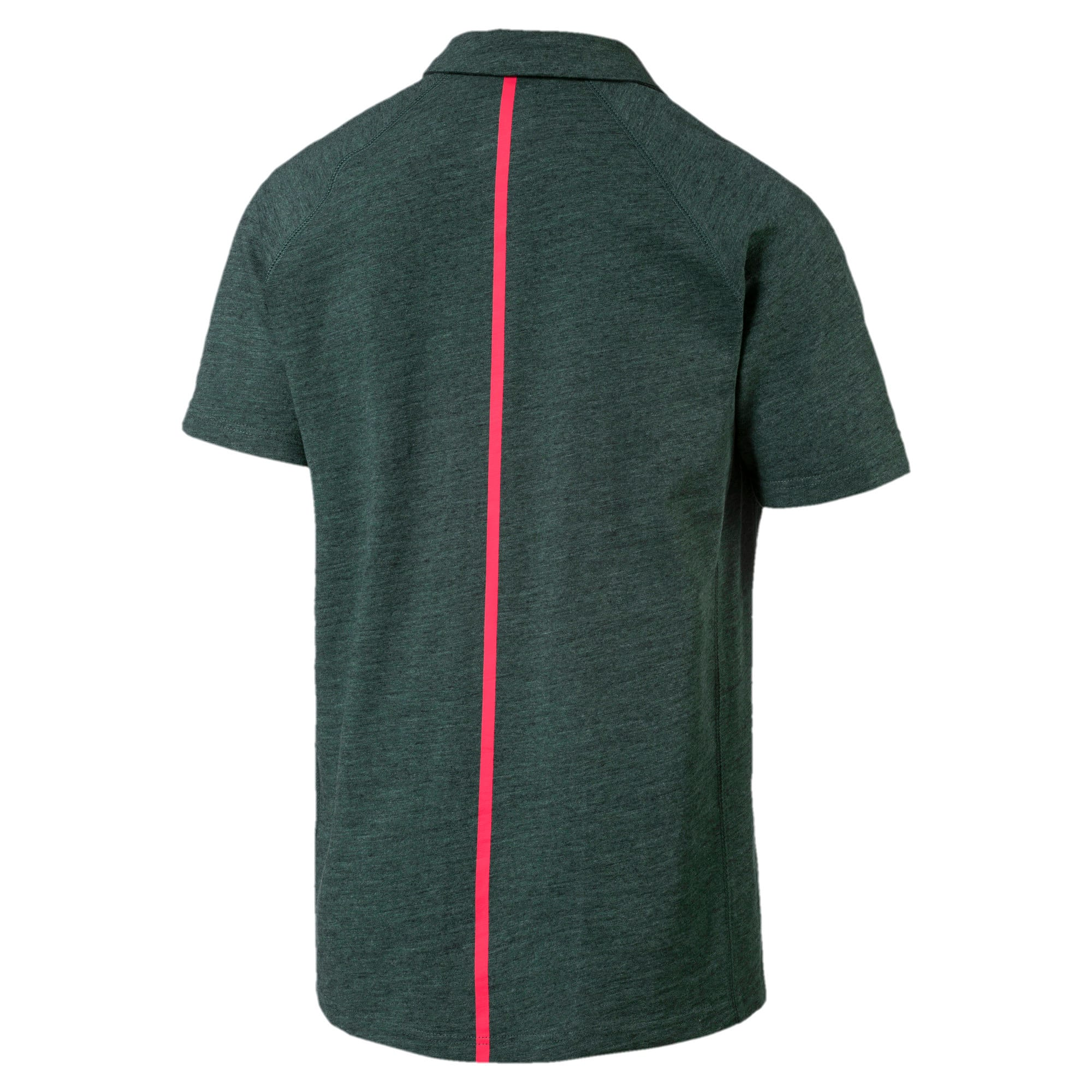 Ferrari Lifestyle Men's Polo II, Green Gables Heather, large-IND