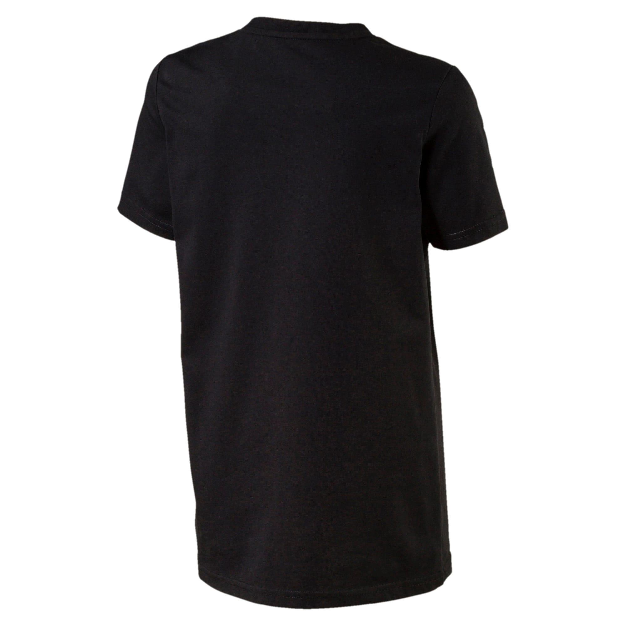 Thumbnail 2 of Boys' Evo Graphic T-Shirt, Cotton Black, medium-IND