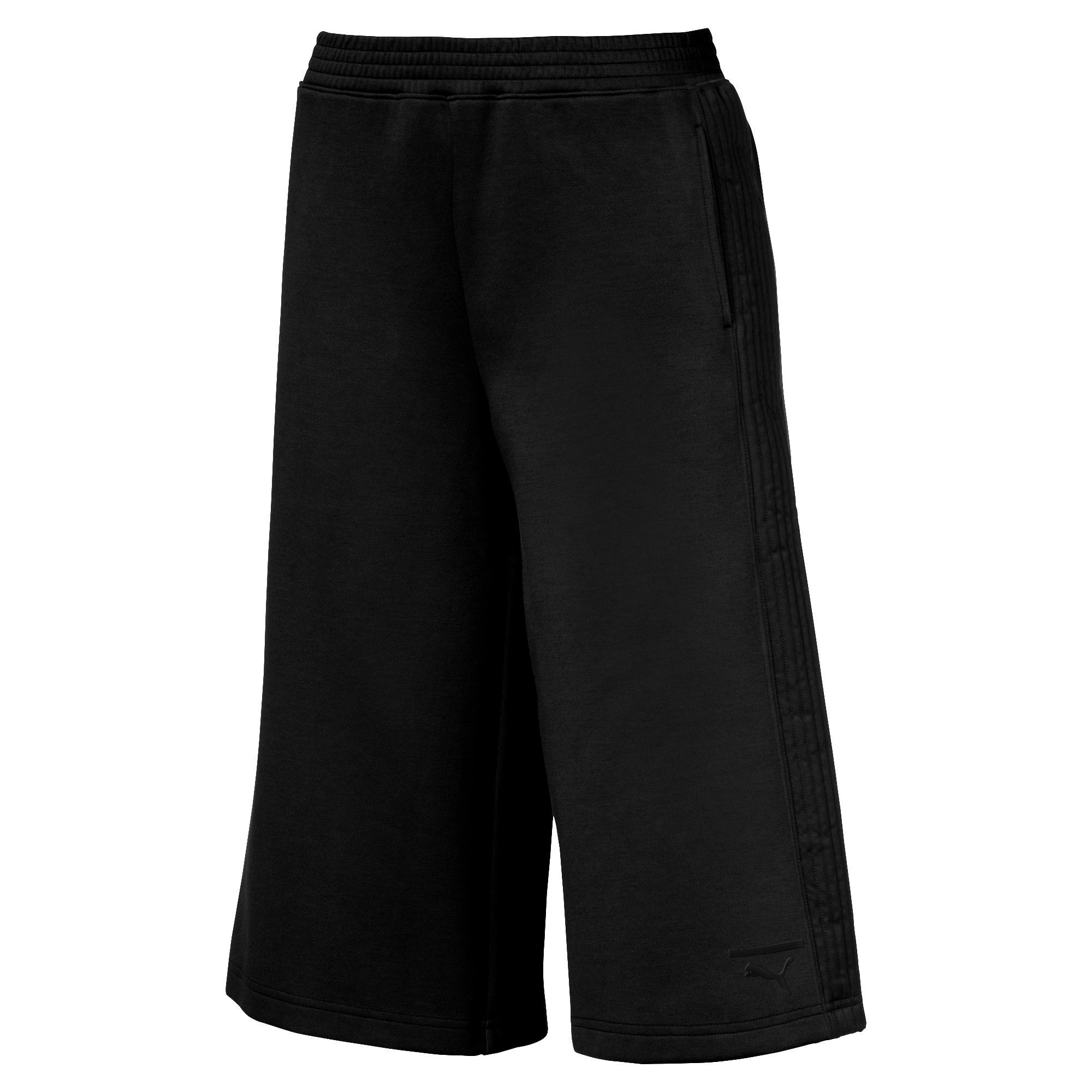 Thumbnail 4 of Evolution Women's Quilted Culottes, Puma Black, medium-IND