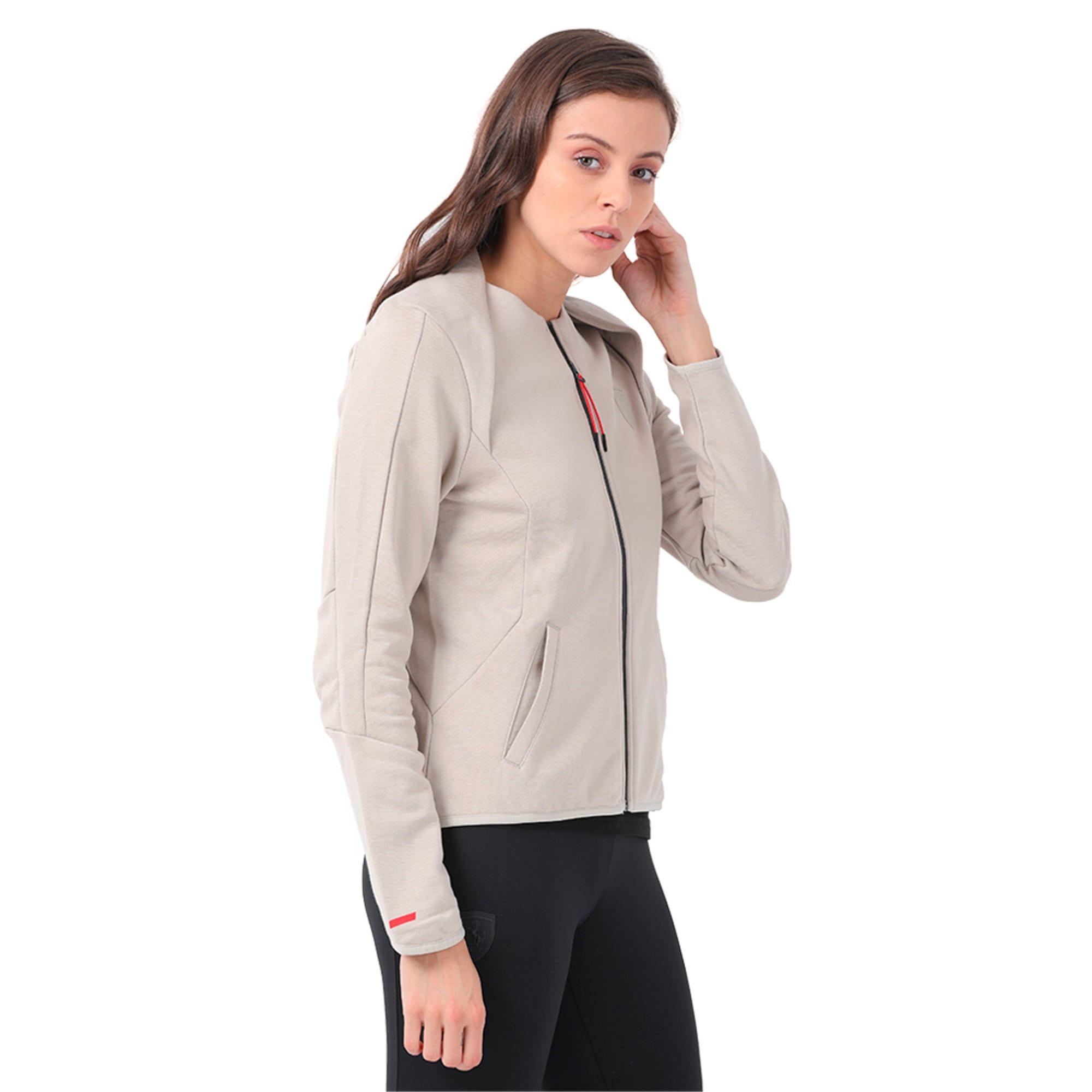 Thumbnail 1 of Ferrari Lifestyle Women's T7 Sweat Jacket, Pure Cashmere, medium-IND