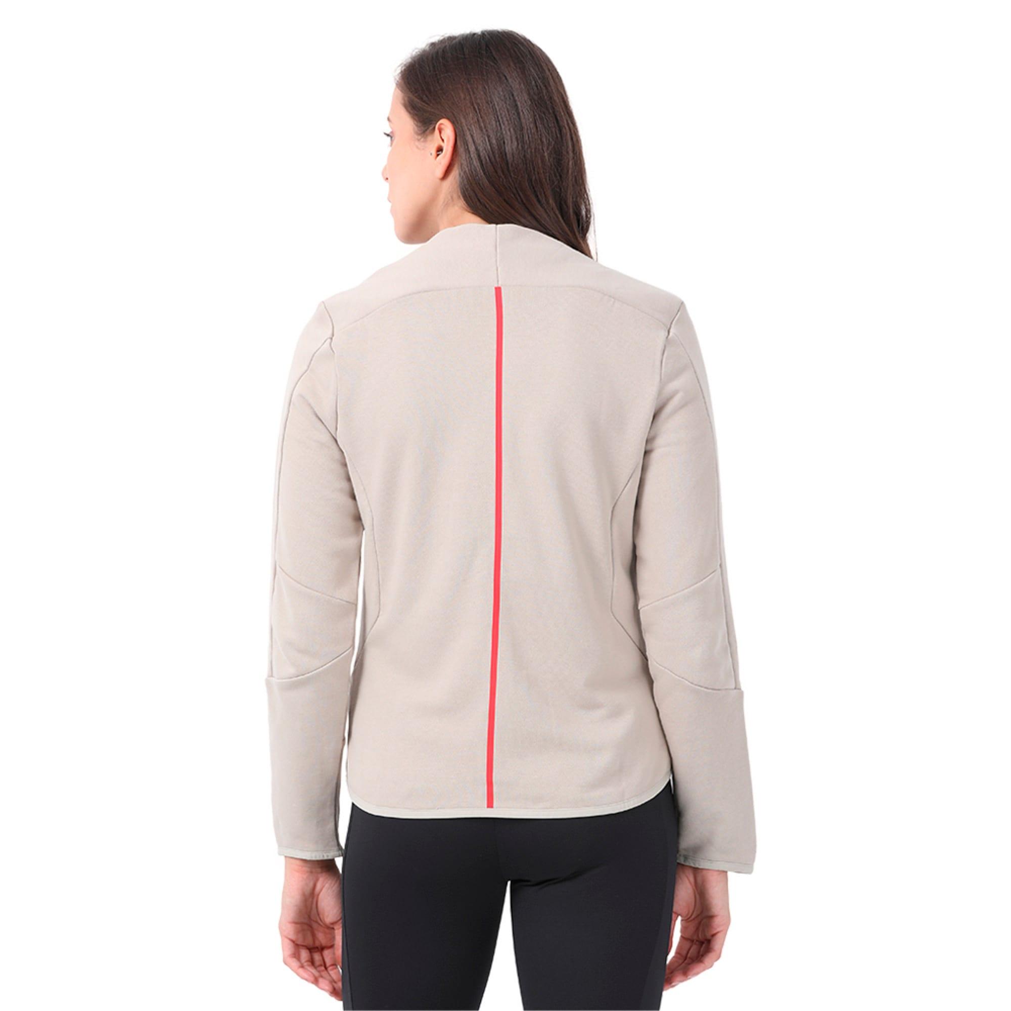 Thumbnail 2 of Ferrari Lifestyle Women's T7 Sweat Jacket, Pure Cashmere, medium-IND