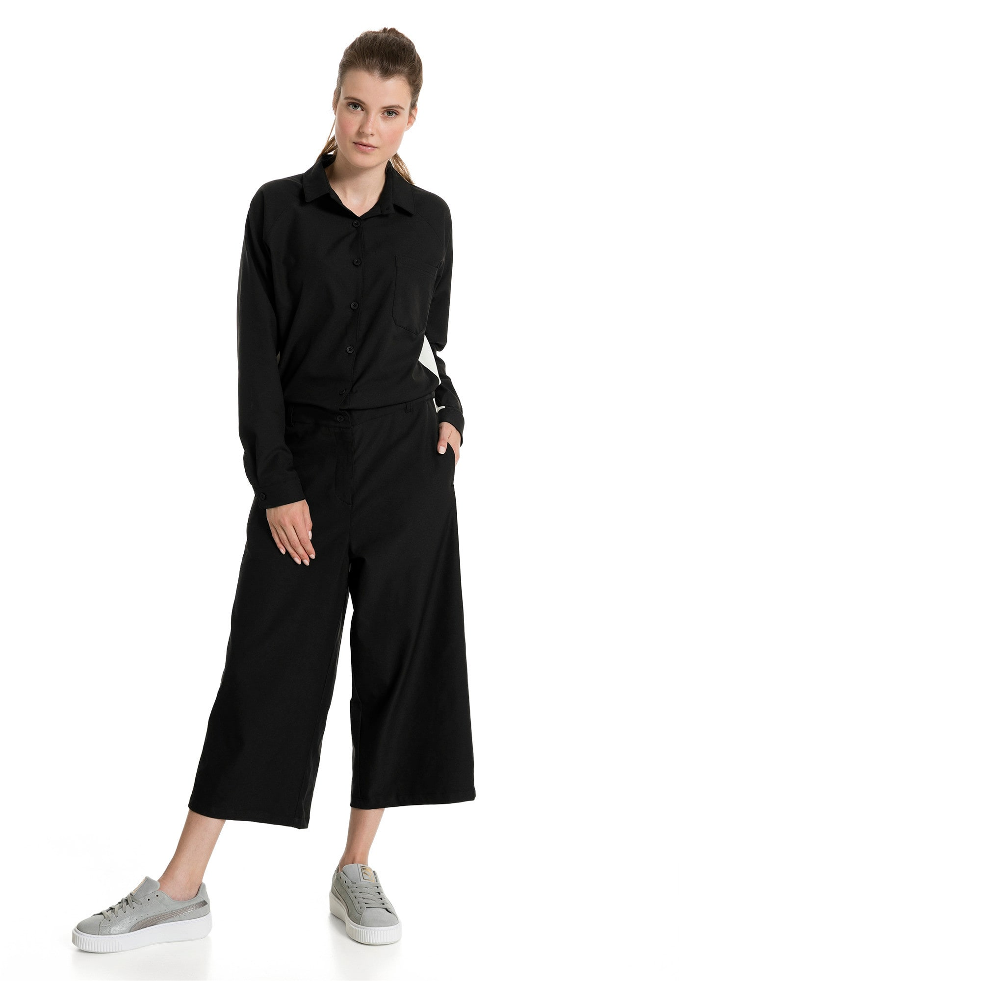 Thumbnail 2 of True Archive Women's Worker Overall, Puma Black, medium-IND