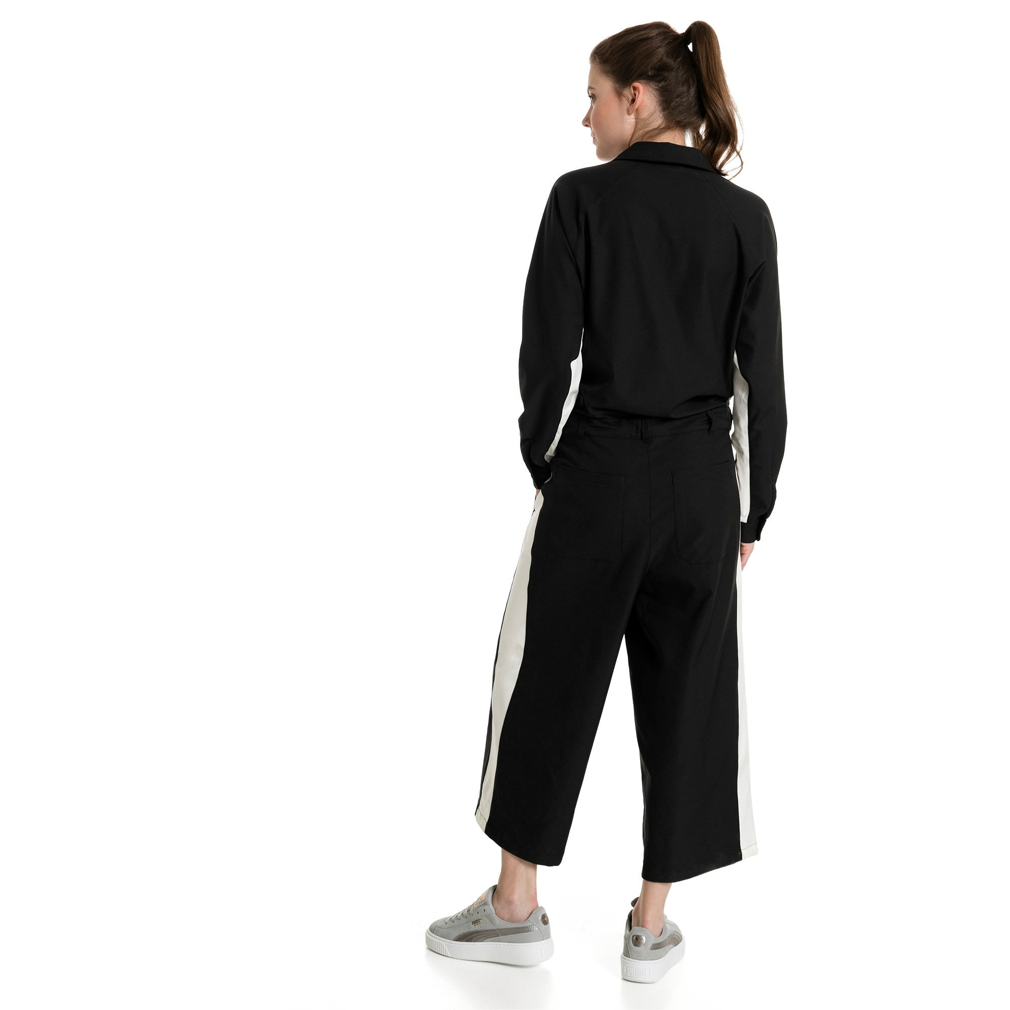 Thumbnail 4 of True Archive Women's Worker Overall, Puma Black, medium-IND