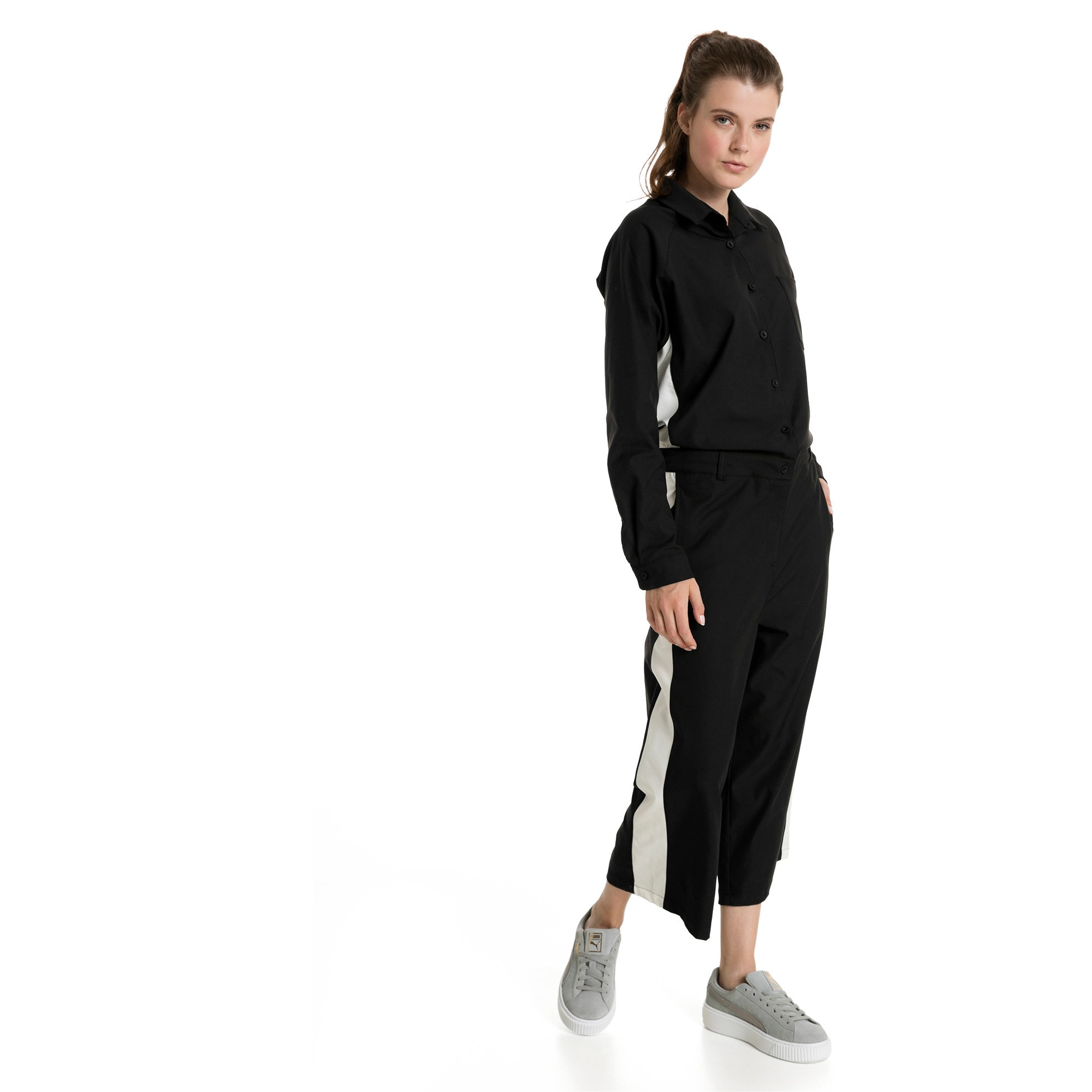 Thumbnail 3 of True Archive Women's Worker Overall, Puma Black, medium-IND