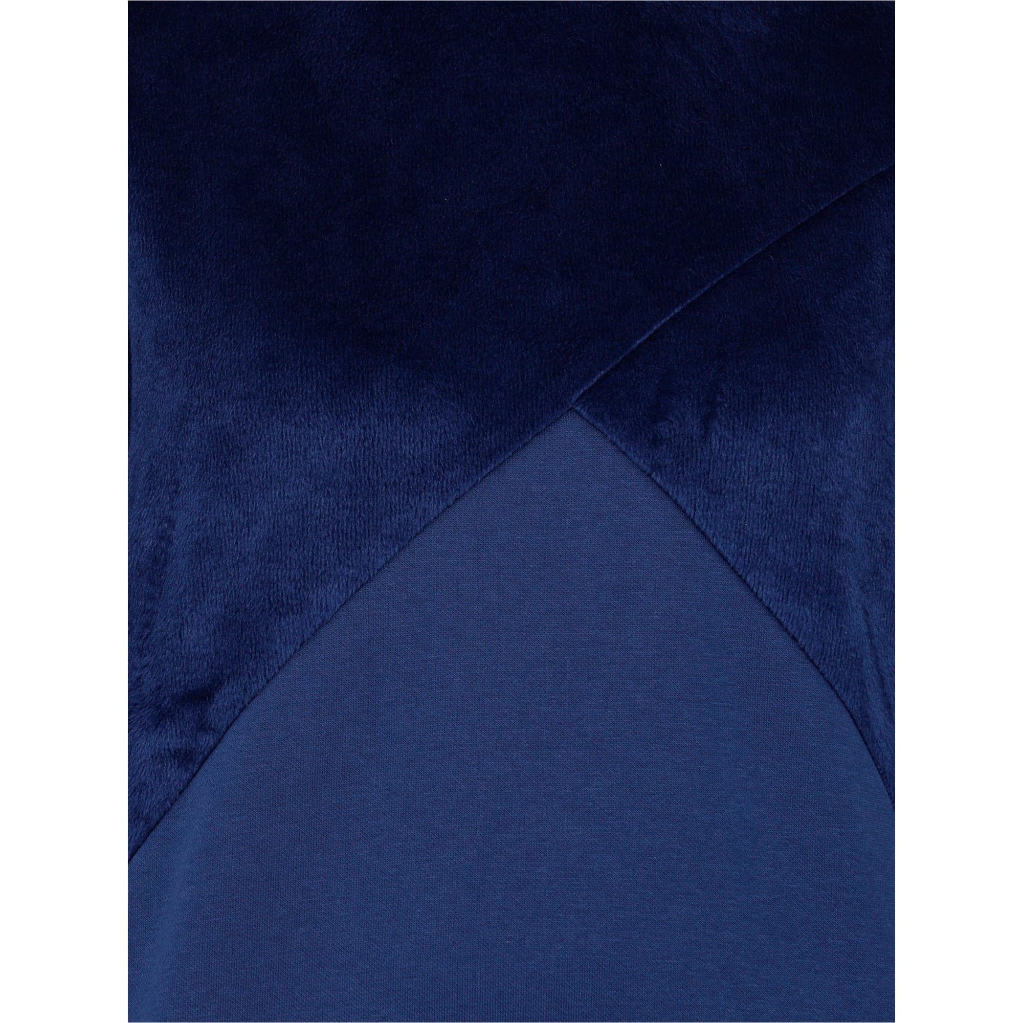 Thumbnail 5 of Archive Women's Fabric Block Sweater, Blue Depths, medium-IND