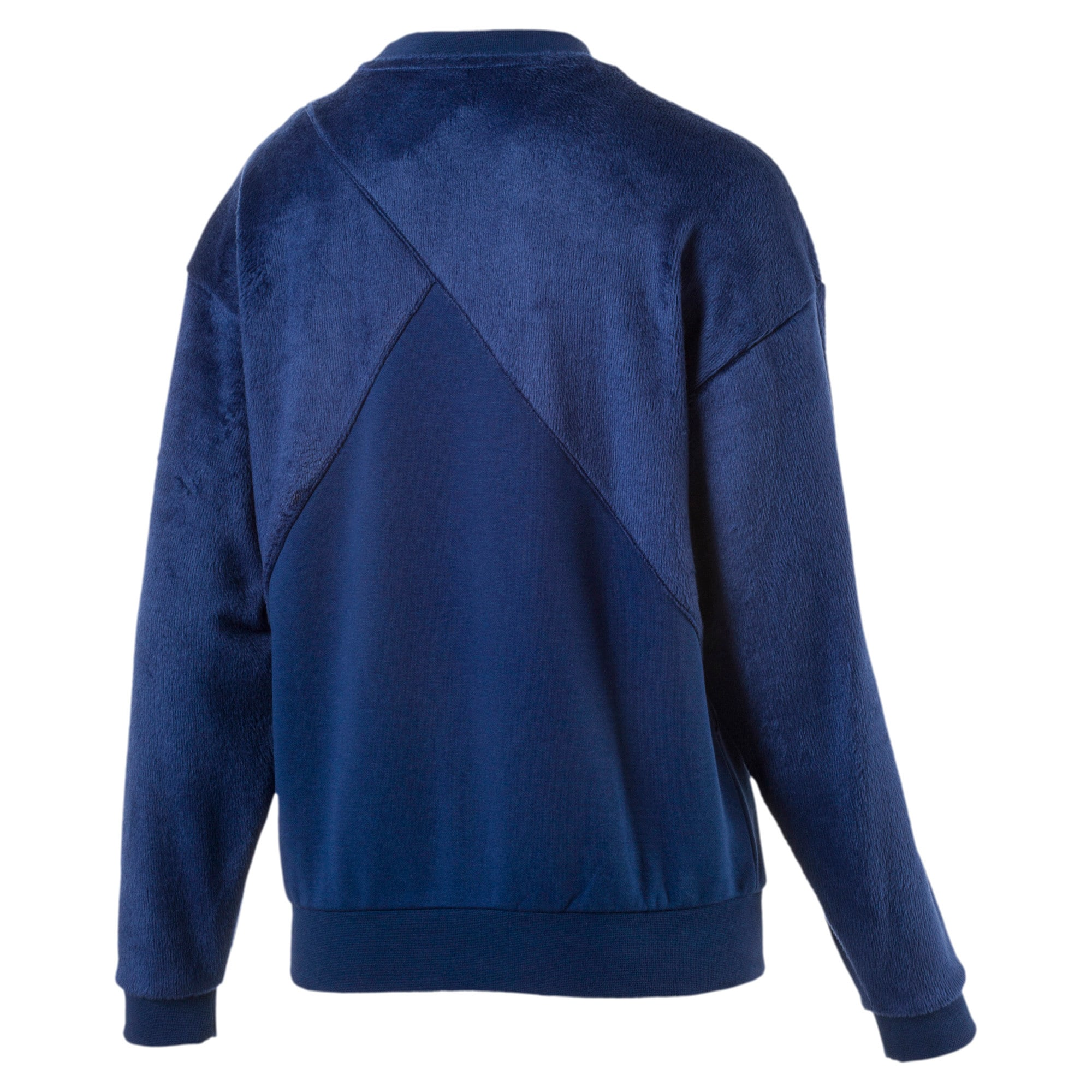 Thumbnail 1 of Archive Women's Fabric Block Sweater, Blue Depths, medium-IND