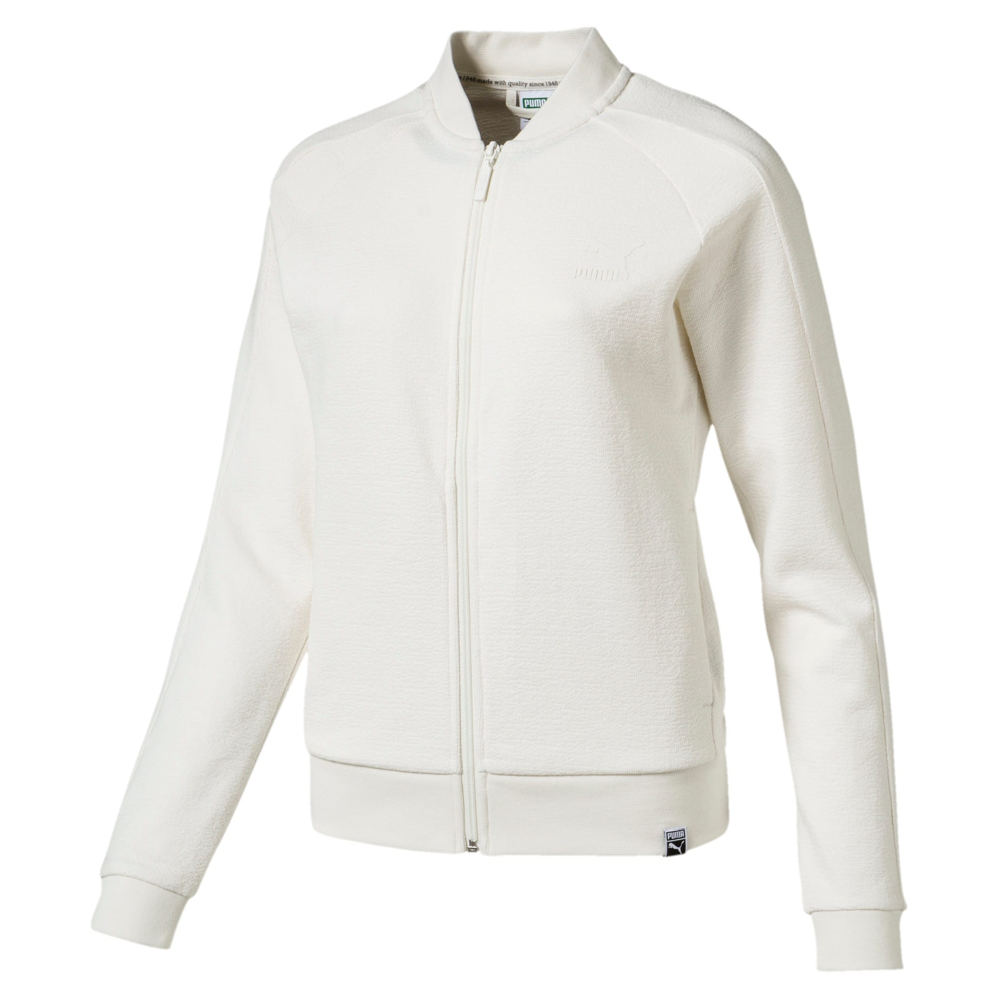 Thumbnail 1 of Classics Women's Structured Archive T7 Track Jacket, Marshmallow, medium-IND