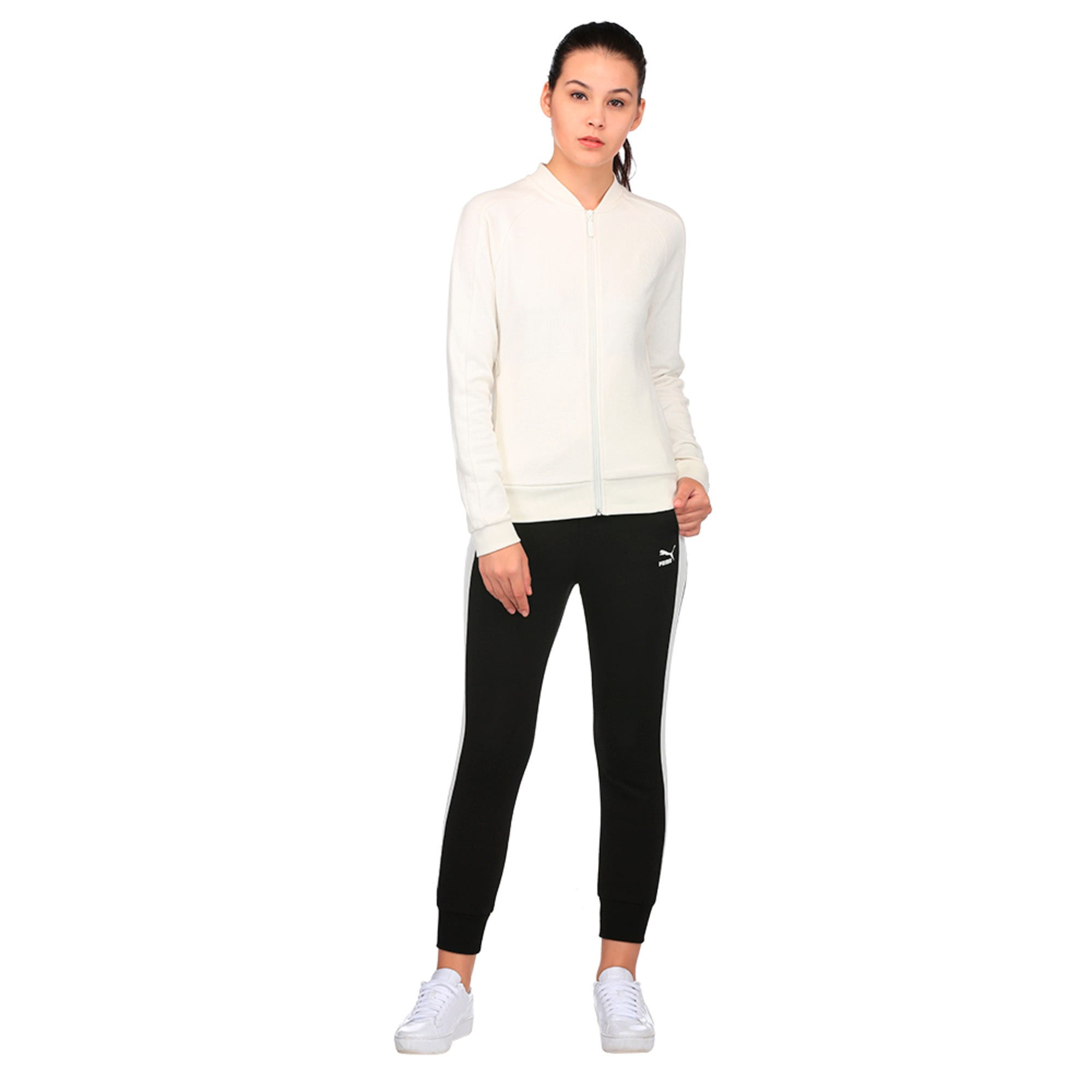 Thumbnail 4 of Classics Women's Structured Archive T7 Track Jacket, Marshmallow, medium-IND