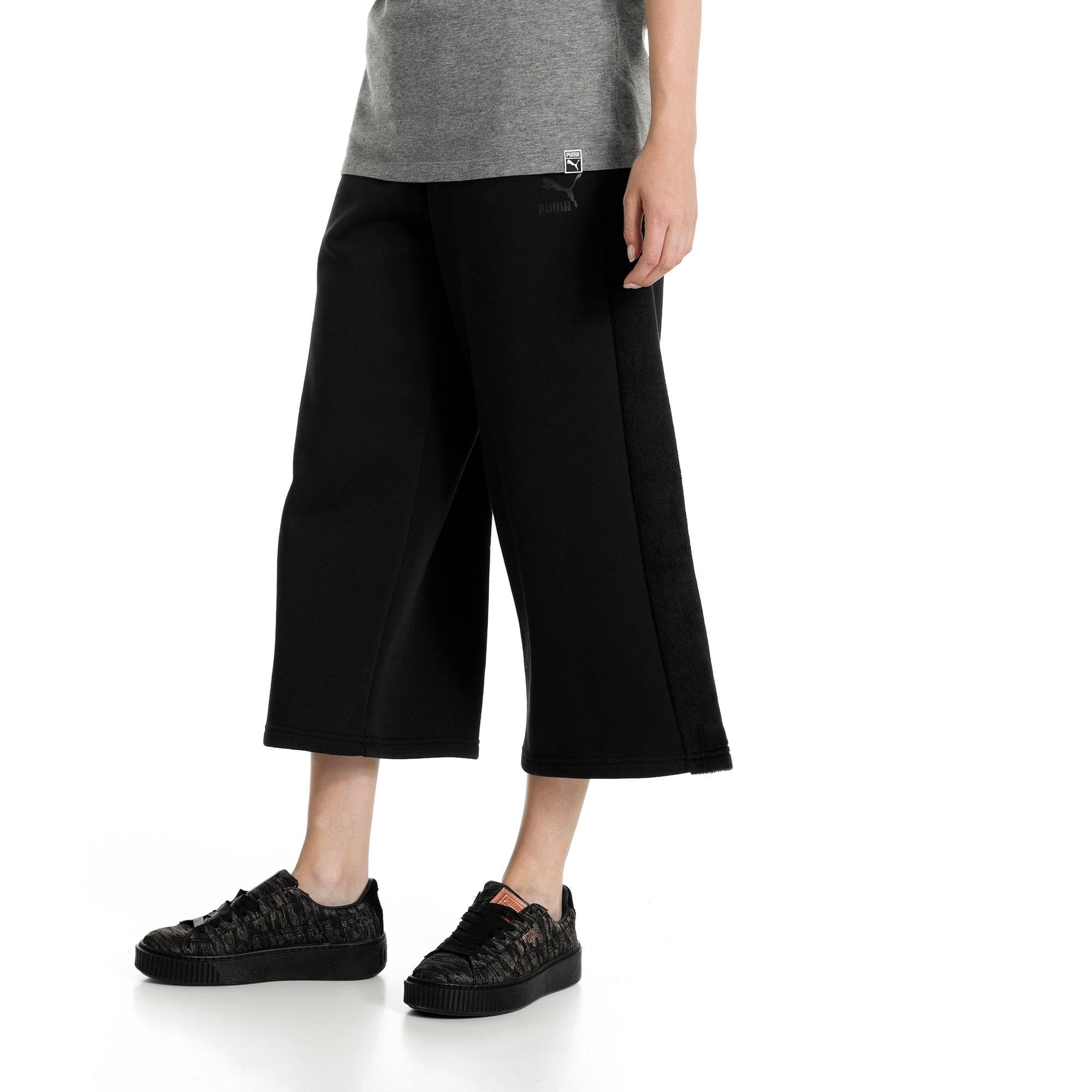 Thumbnail 2 of Classics Women's Winterized Archive Logo T7 Pants, Cotton Black, medium-IND